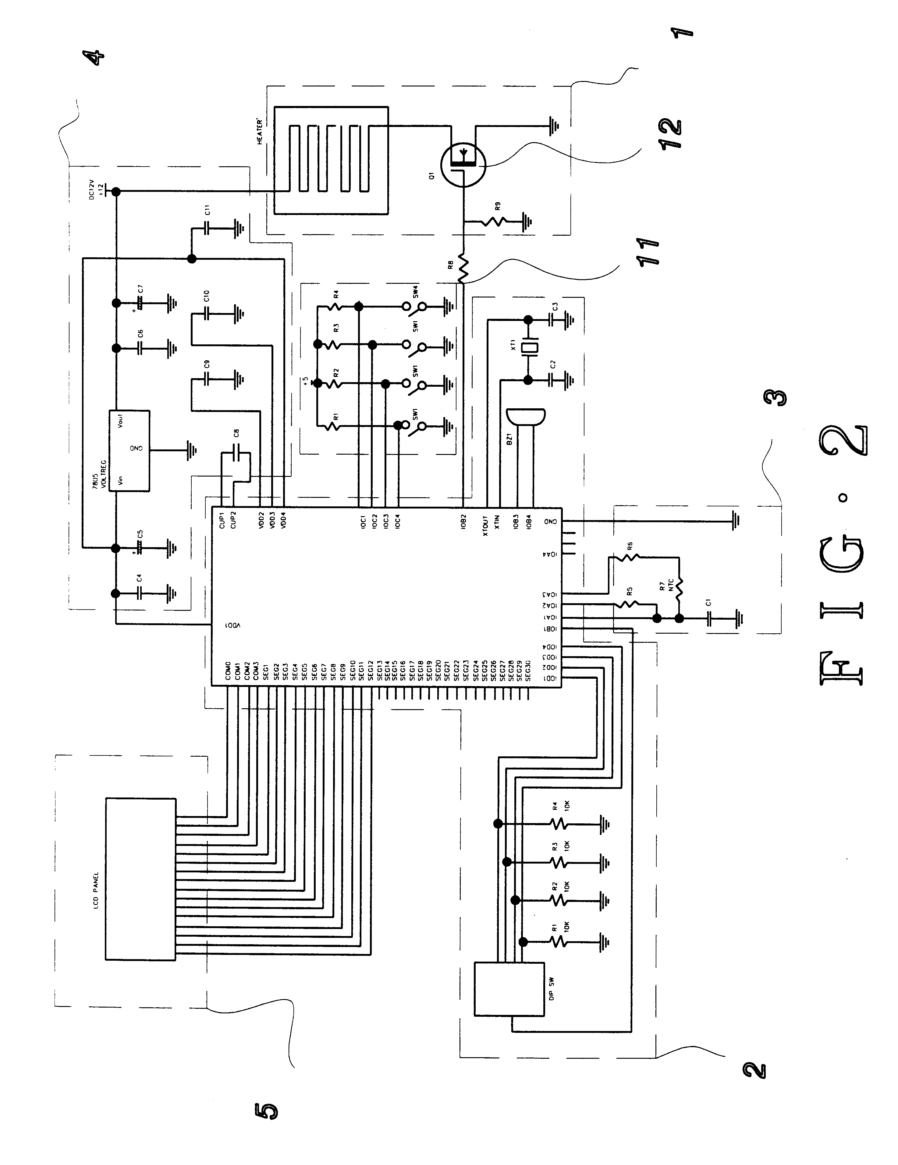 Patent us electric heating blanket control