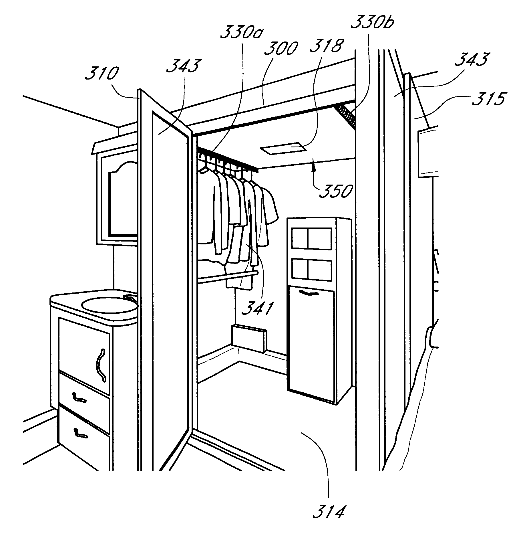 Fancy Patent Drawing