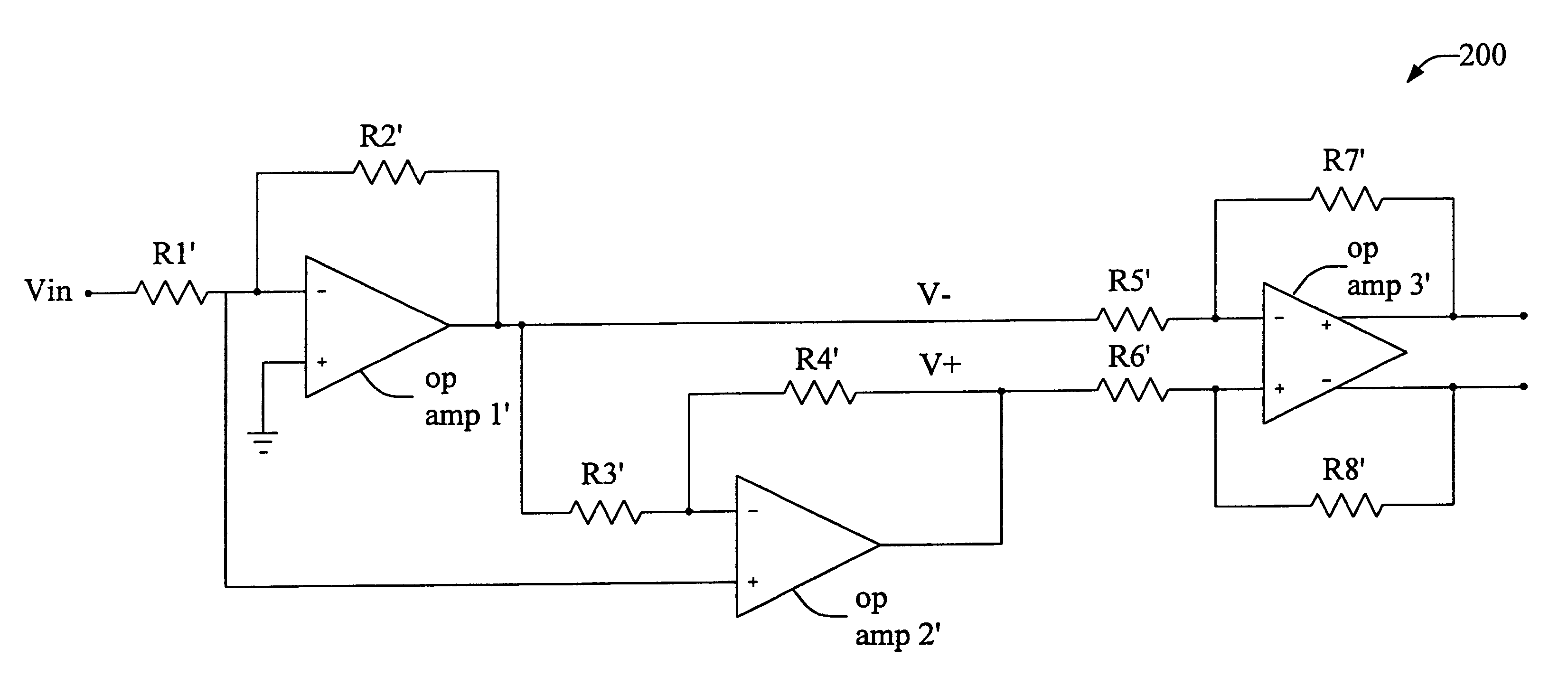 Patent Us6566946 Noise Reduction Scheme For Operational Amplifiers Opampinvertingamplifiercircuitpng Drawing
