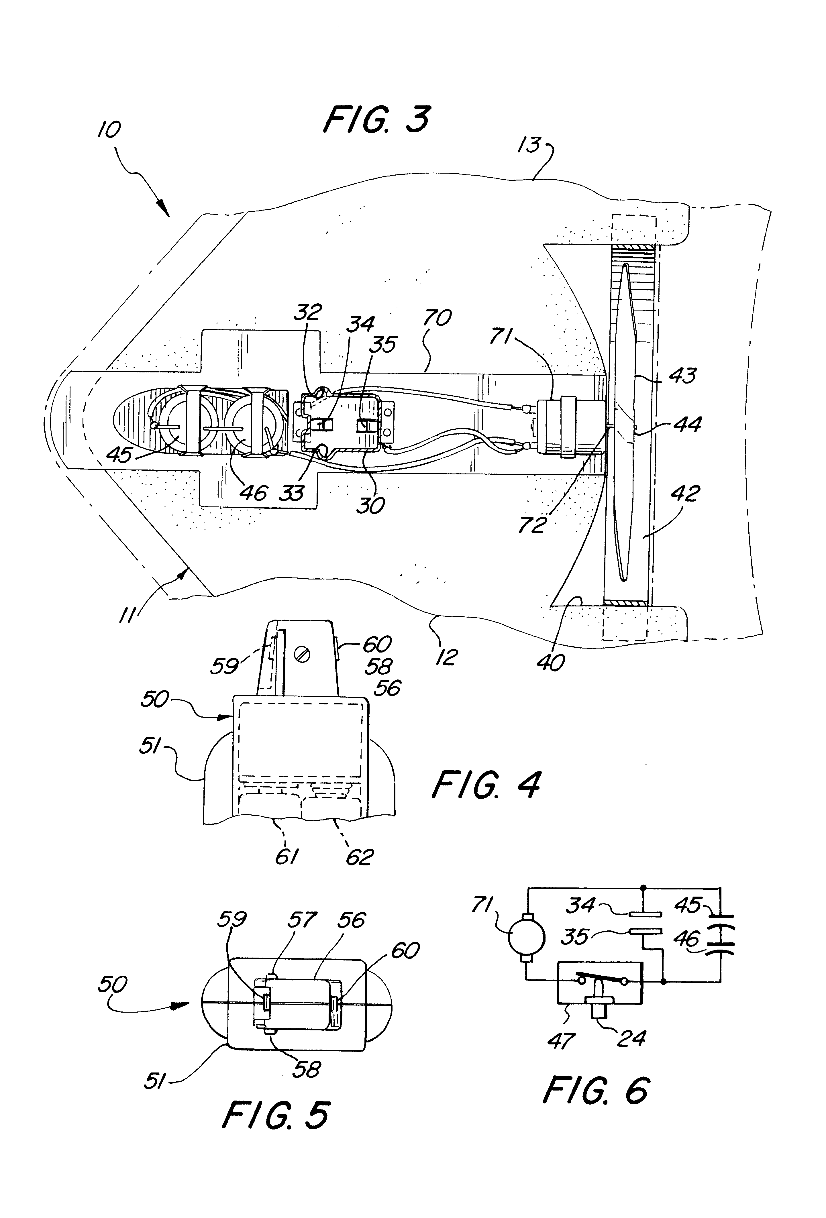 patent us6568980 - toy airplane powered by electric motor and capacitor power source