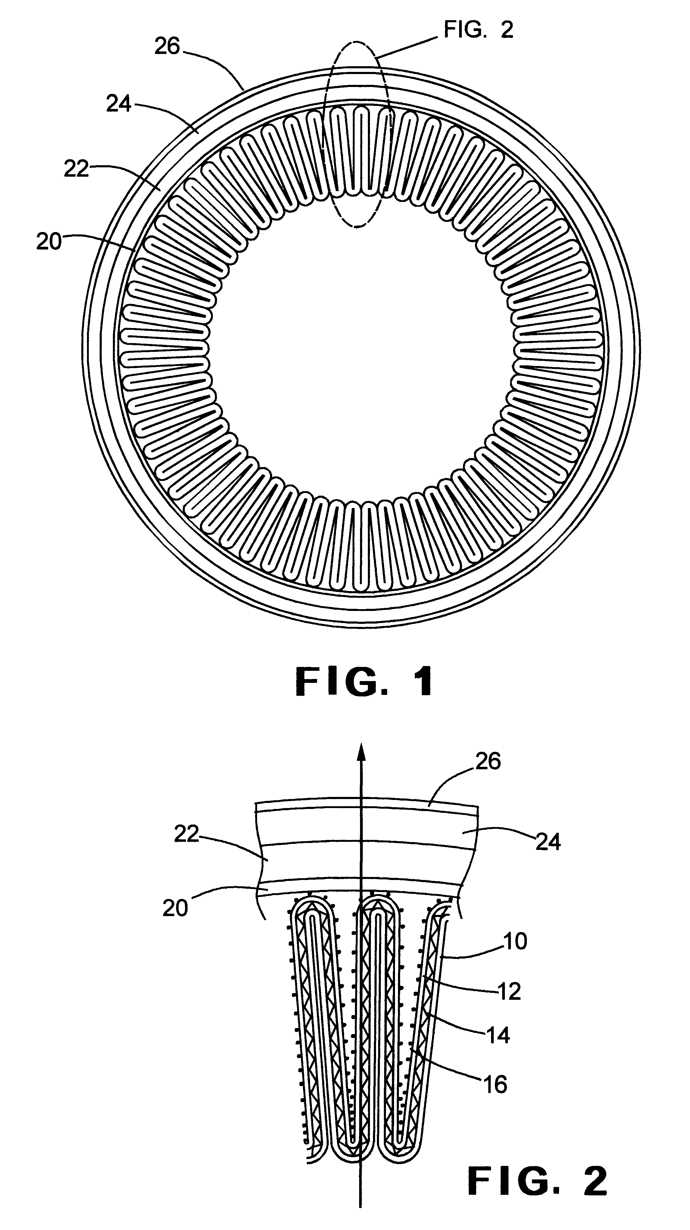 patent us6569330 - filter coalescer cartridge