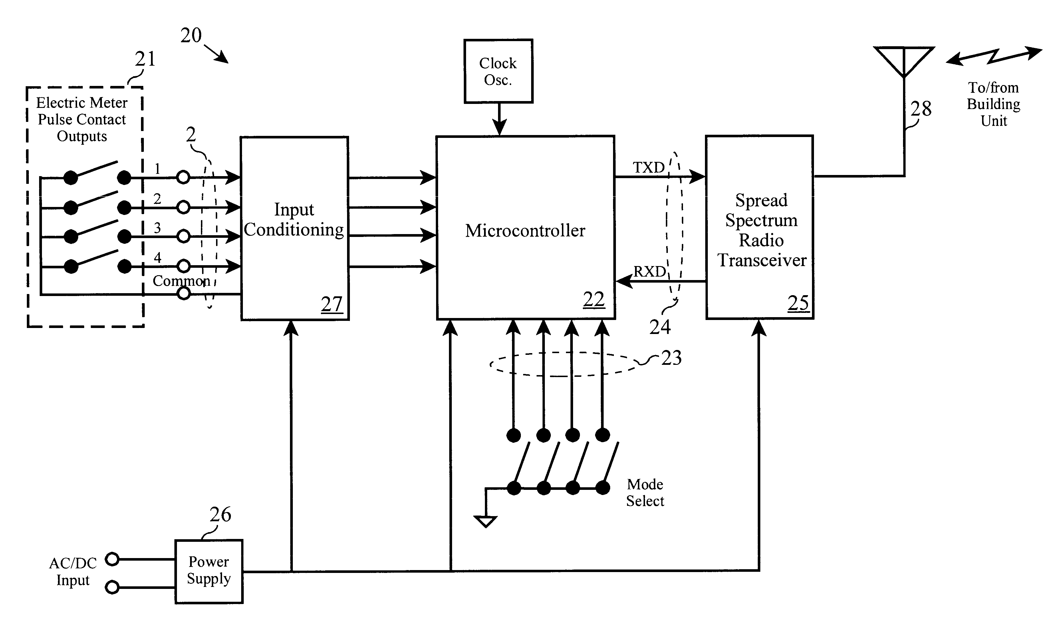 patent us6577245 wireless isolation relay for remote metering patent drawing