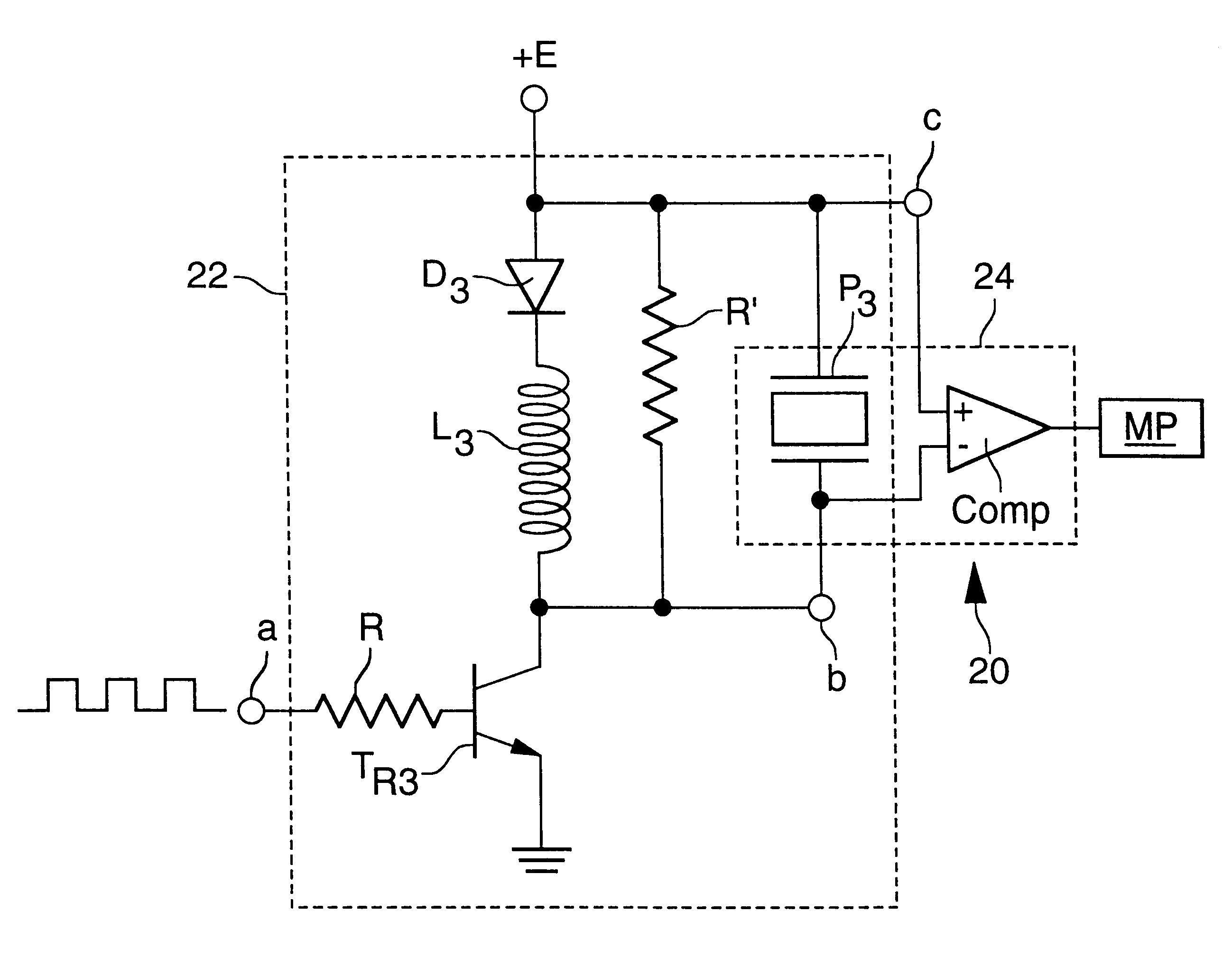 patent us6577559 electronic converter for converting an acoustic on digital comparator schematic
