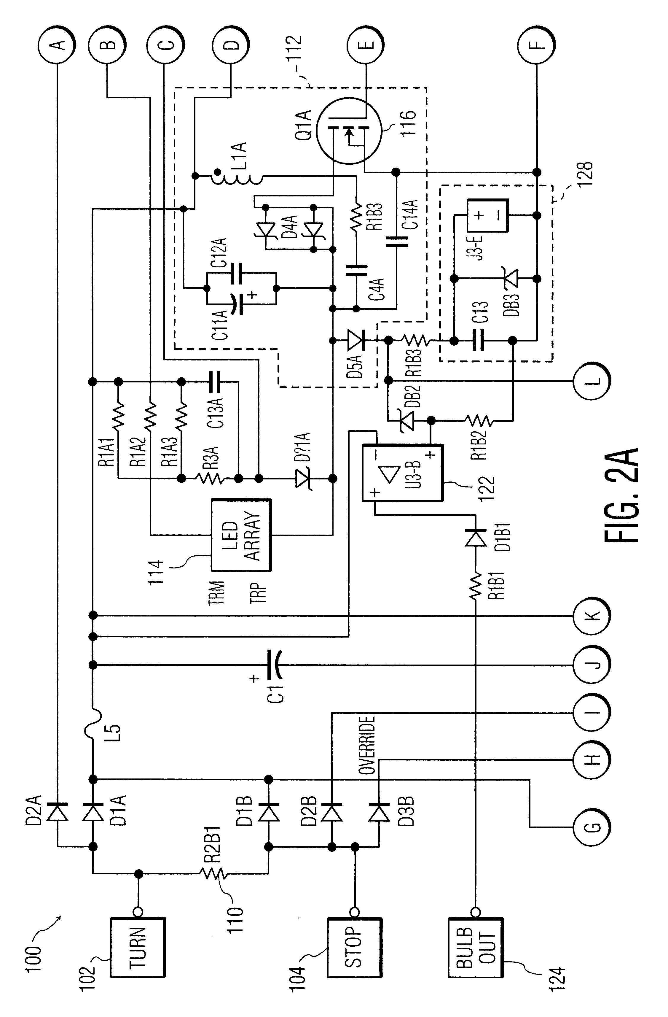 patent us6586890 led driver circuit pwm output google patents patent drawing