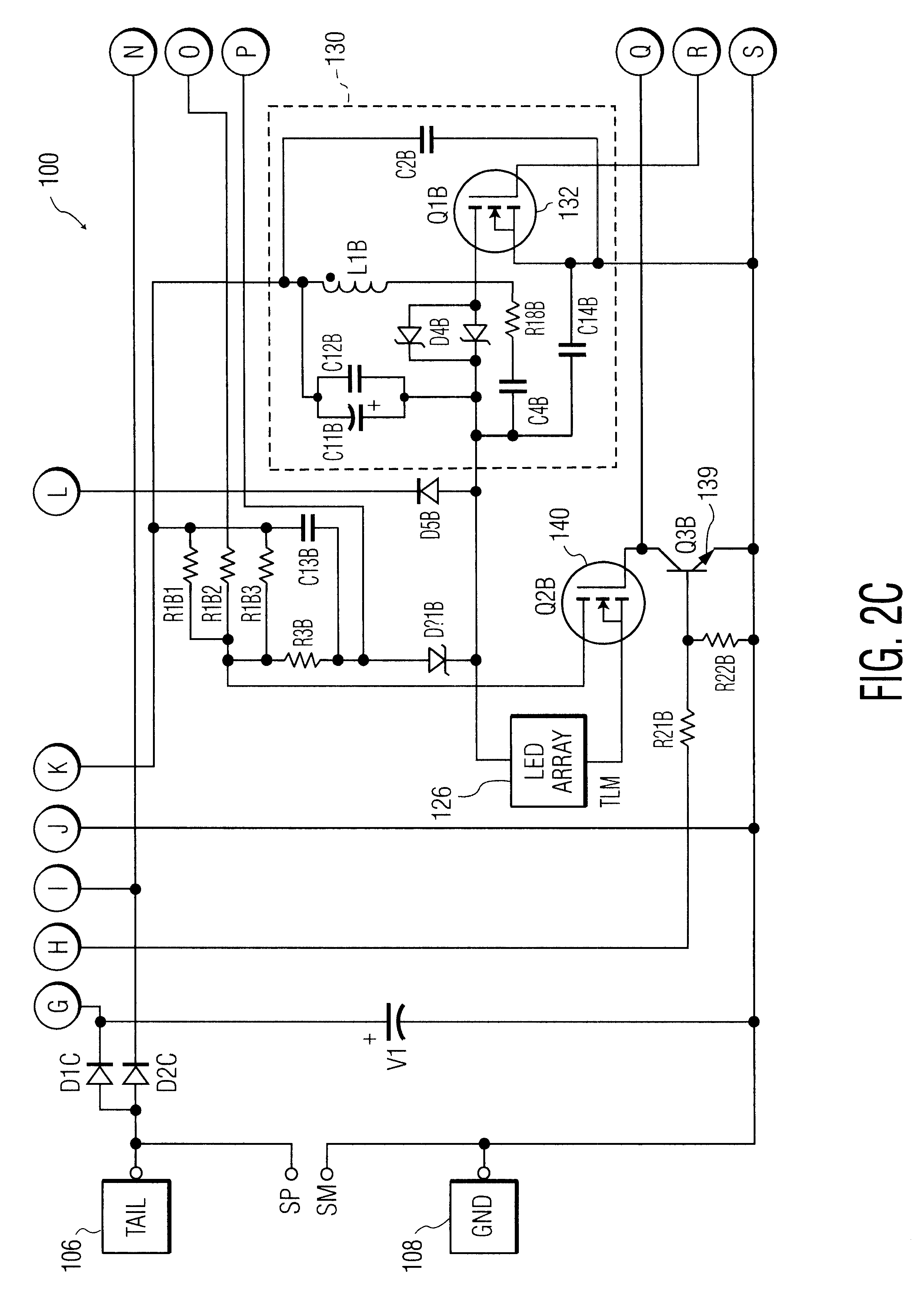 US06586890 20030701 D00004 patent us6586890 led driver circuit with pwm output google patents Pwn Fan Wiring Diagram at crackthecode.co