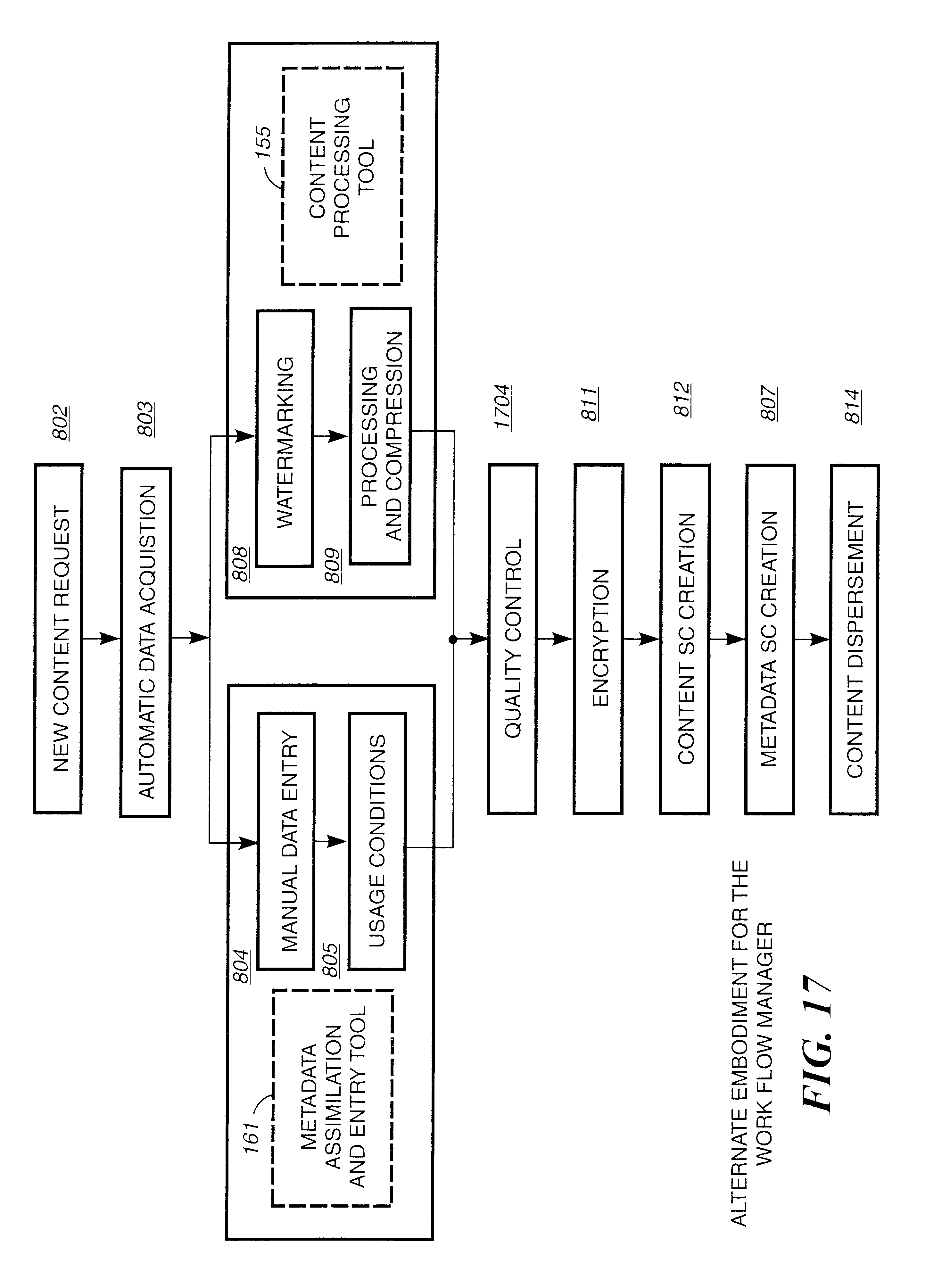 patent us method for delivering electronic content from