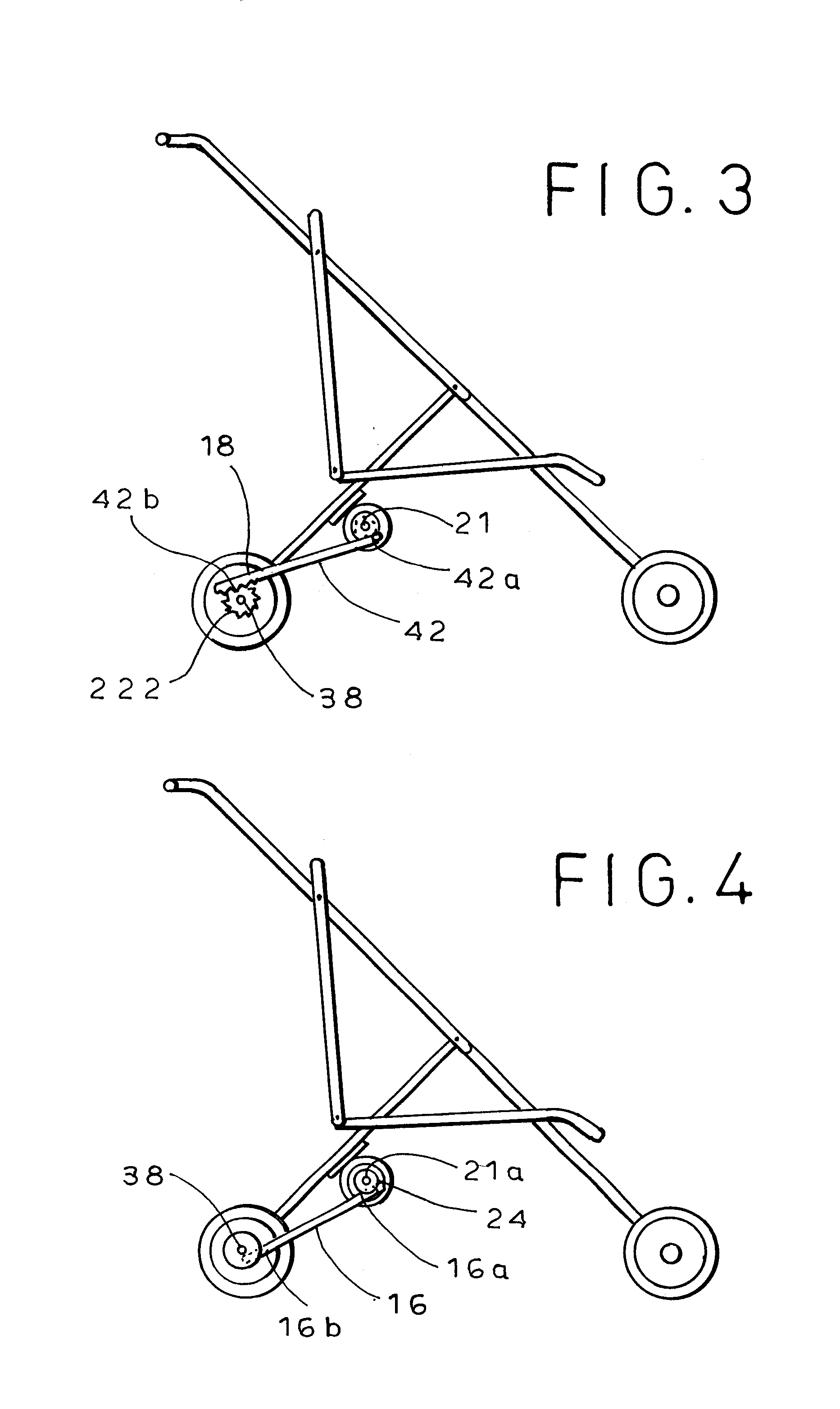 Patent US Automatically rocking stroller Google Patents