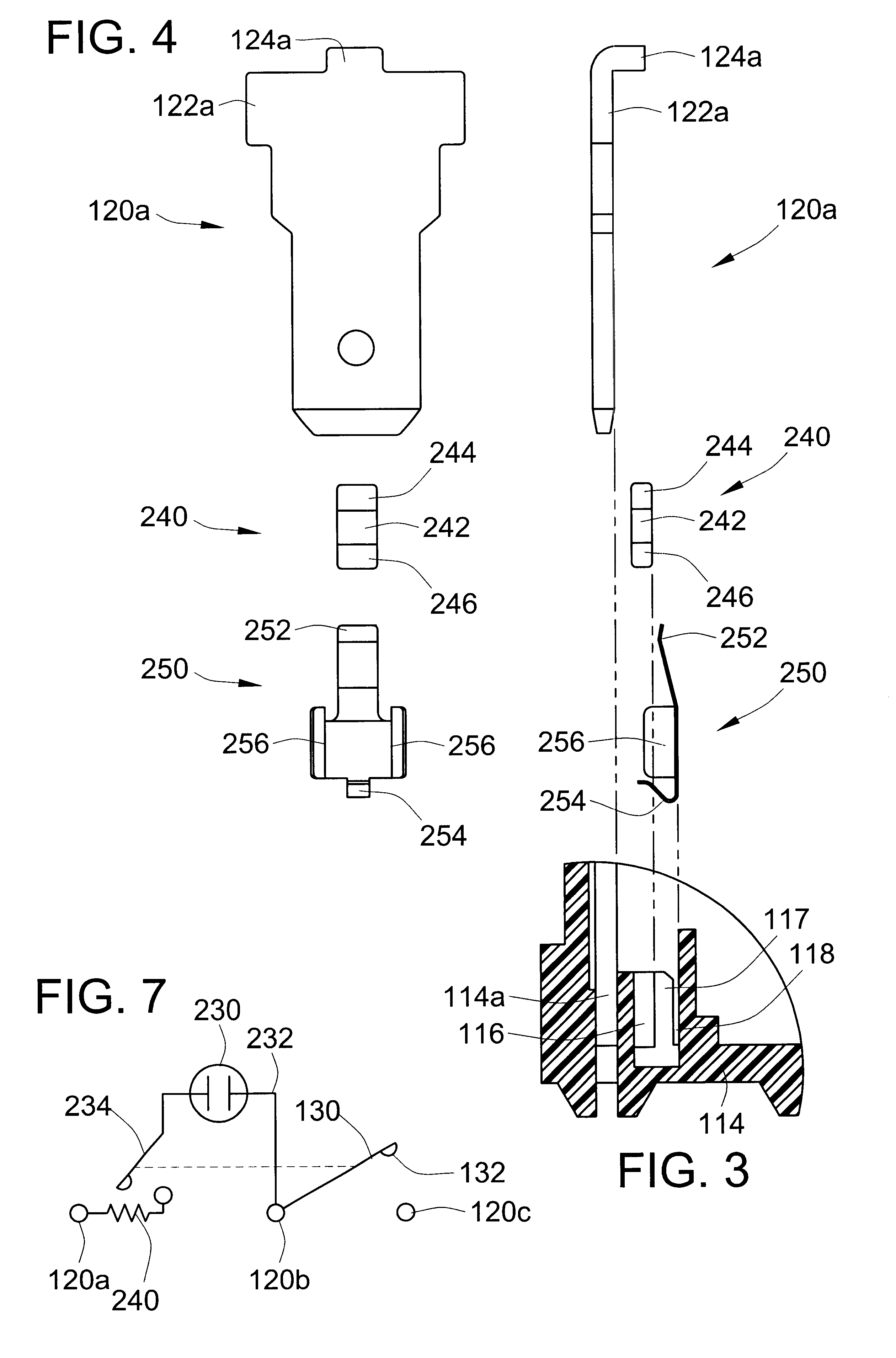 brevet us6590175 illuminated rocker switch with resistor Wiring Diagrams Ceiling Fans patent drawing