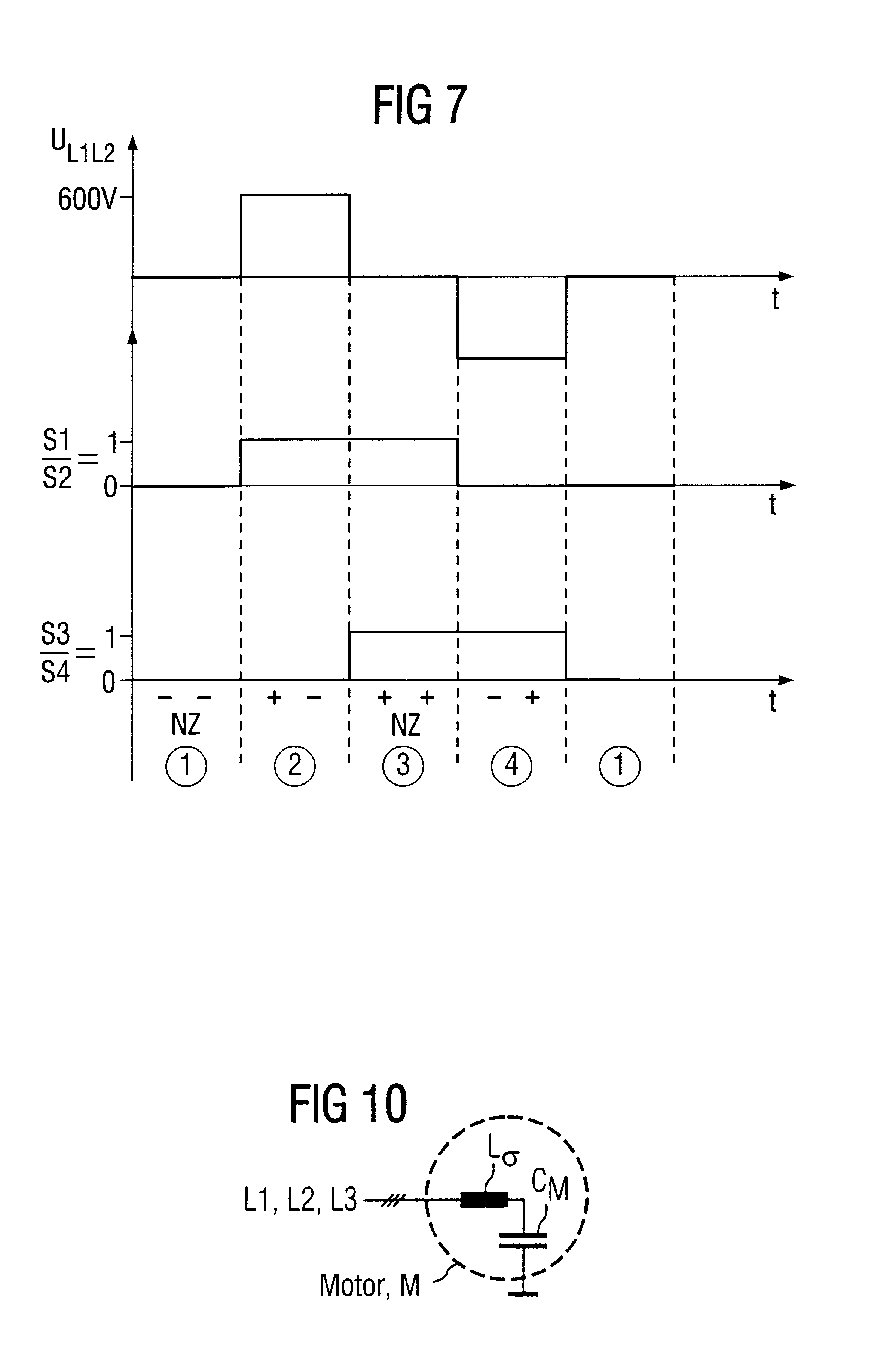 Patent Us6590302 Method For Reducing Natural System Oscillations Here Are The Diagrams Intermediate Switches Marked With L1 L2 Drawing