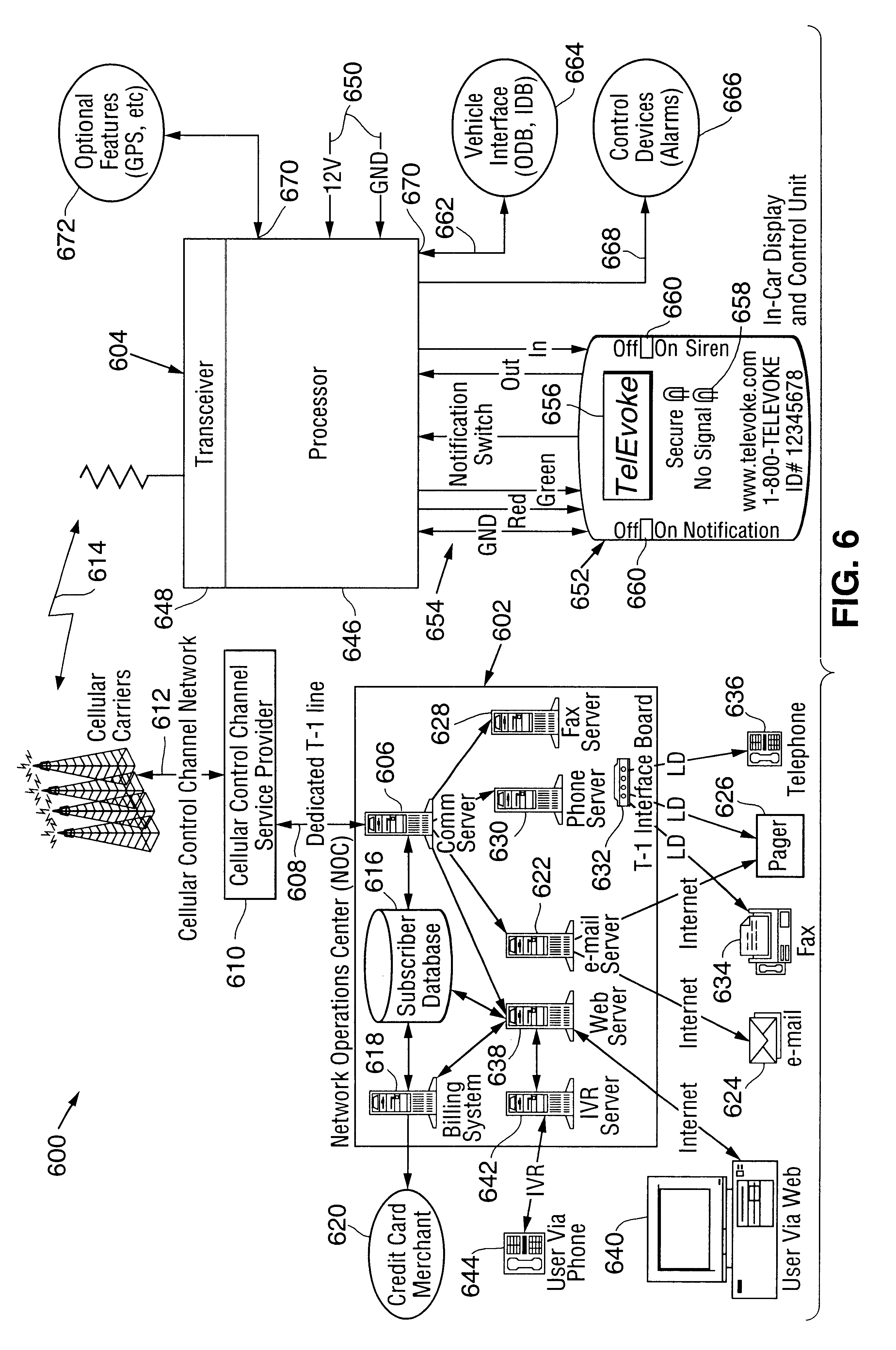Patent US6591094 Automated user notification system Google Patents – Lojack Wiring Diagram