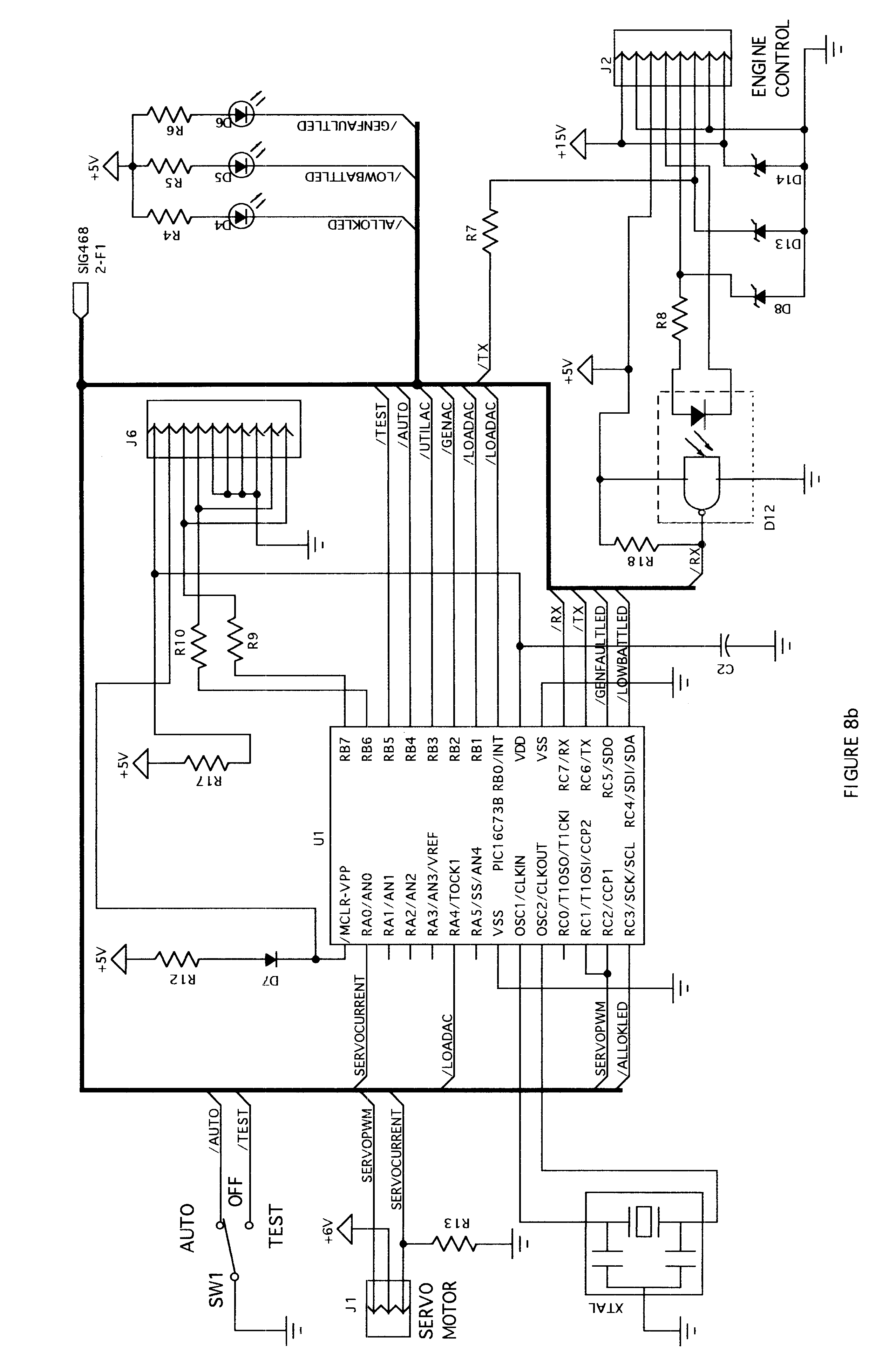 patent us6593670 automatic transfer switch and engine control patent drawing