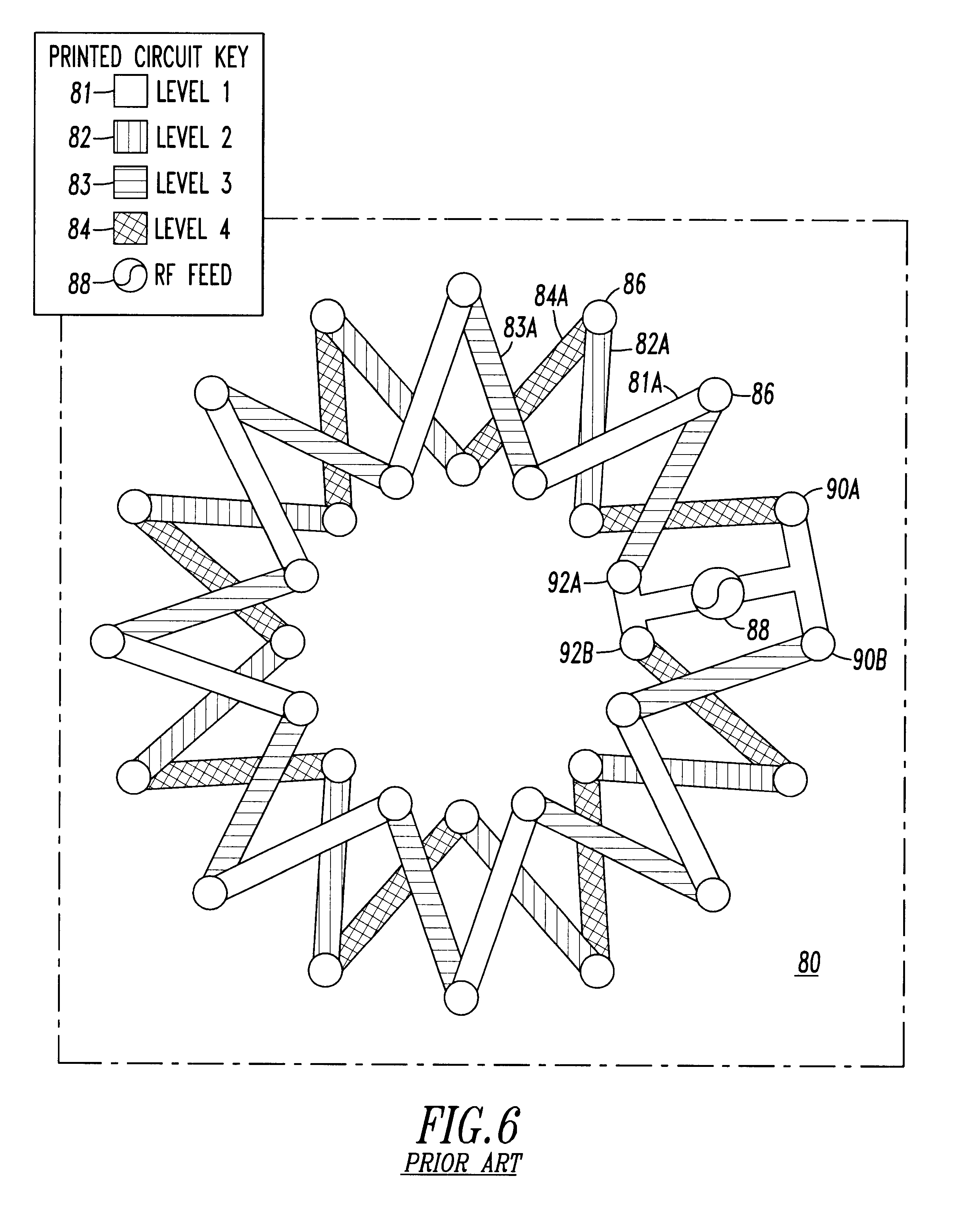 patent us6593900 - flexible printed circuit board antenna