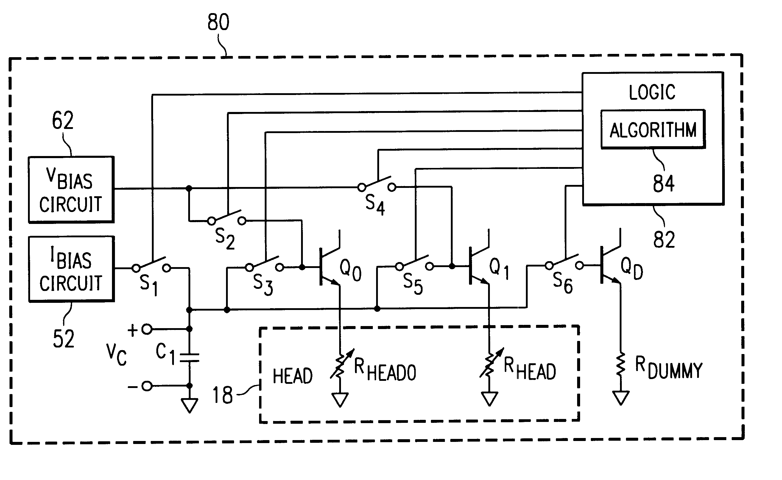 Patent Us6594101 Read Head Protection Circuit And Method Google How To A Logic Diagram Drawing