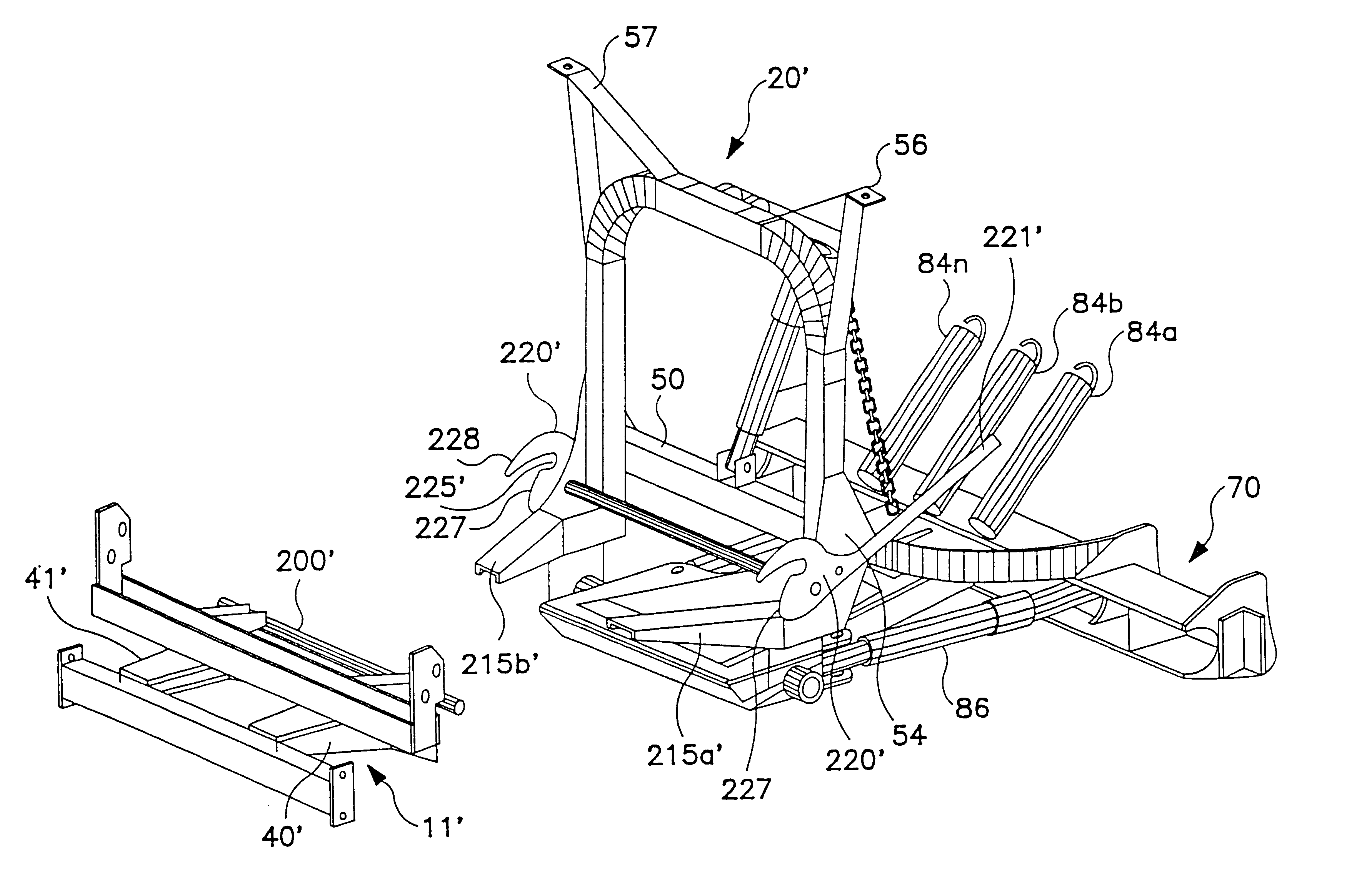 US06594924 20030722 D00000 patent us6594924 vehicle hitch mount assembly for a snow plow Snow Plow E60 Wiring-Diagram at cos-gaming.co