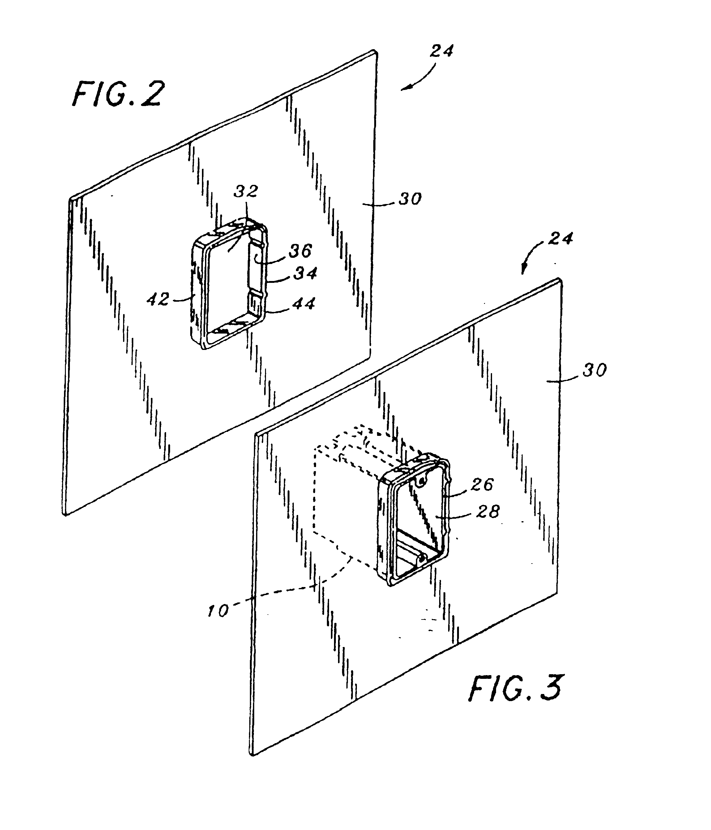 Patent Us6596938 Exterior Electrical Box Waterproofing System Google Patents