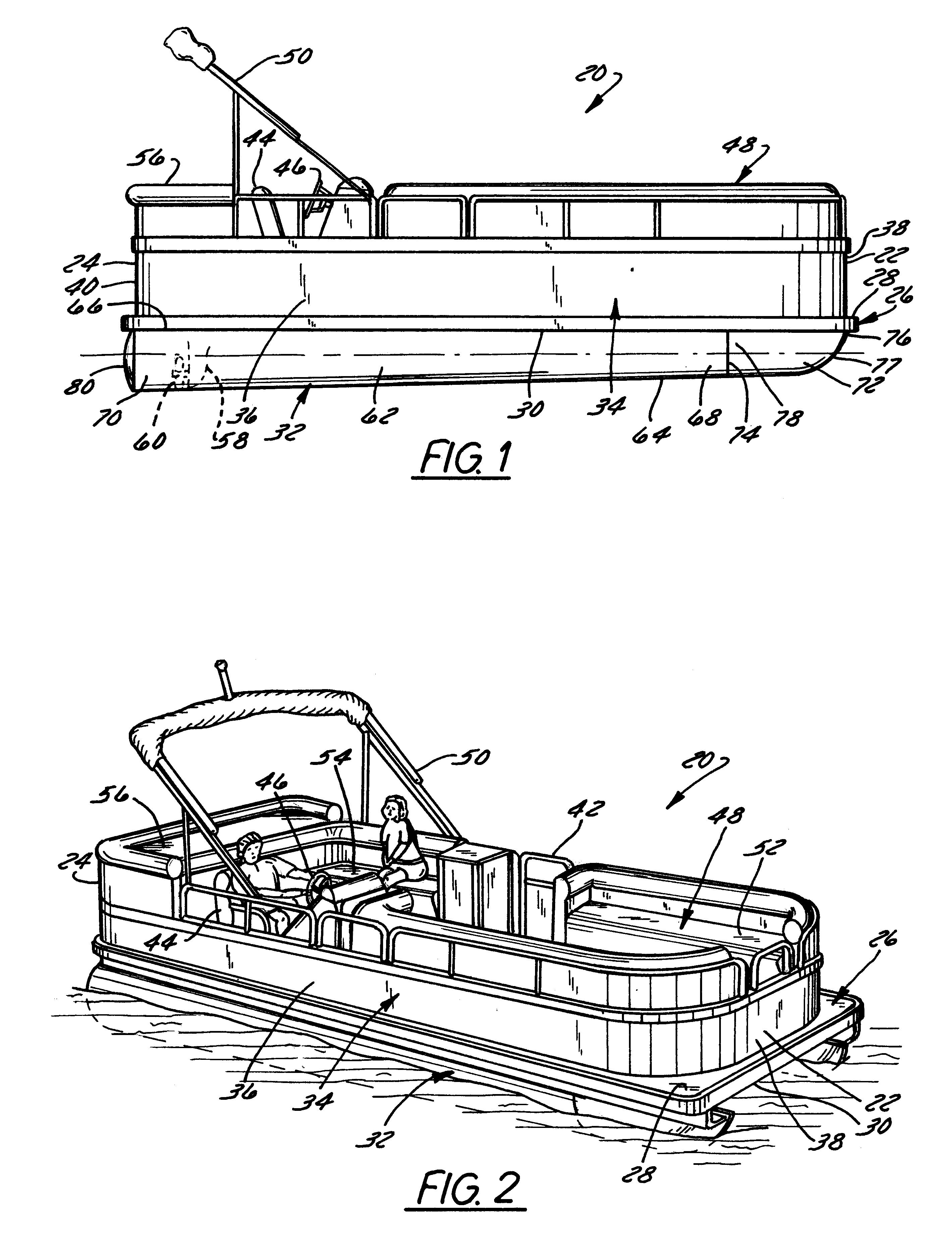 boat steering diagram