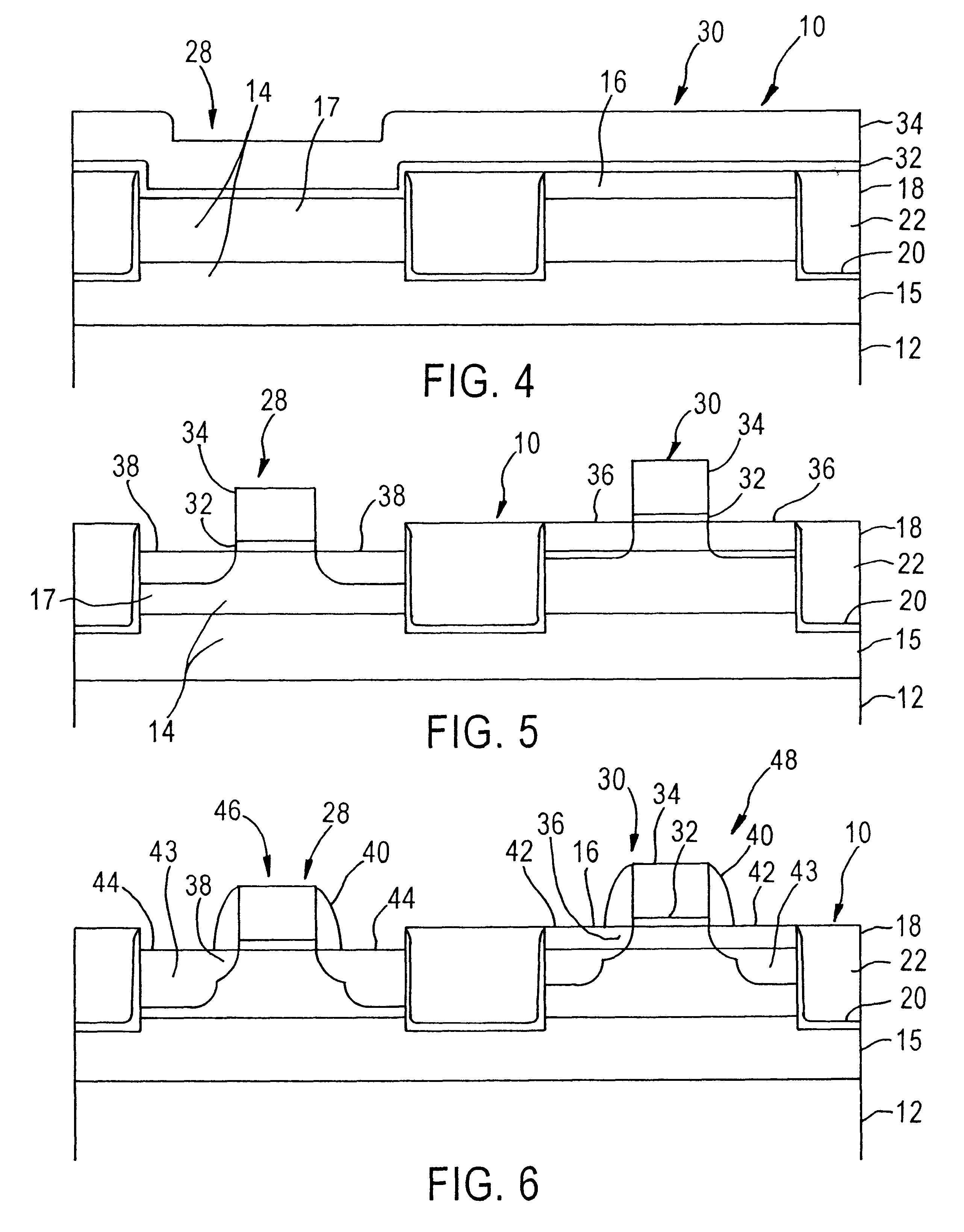 cmos with strained silicon channel nmos and silicon germanium