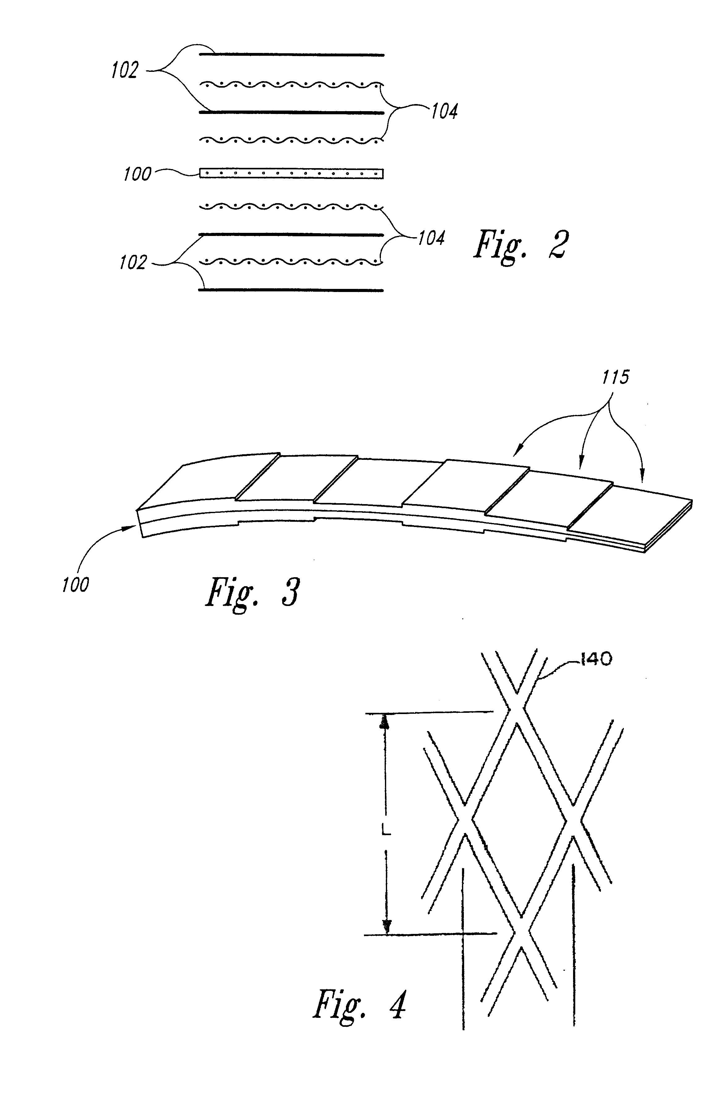 Patent Us6602810 Method For Alleviating Residual Tensile