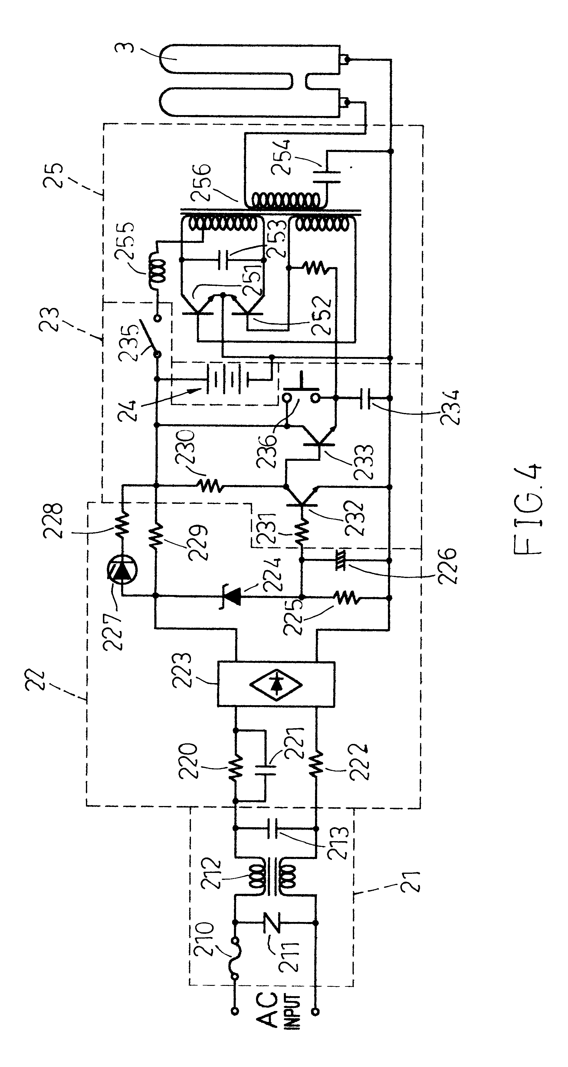 Patent Us6605900 Rechargeable Emergency Lamp Tube Google Patents Led Light Bulb Patente On Wire Battery Circuit Drawing