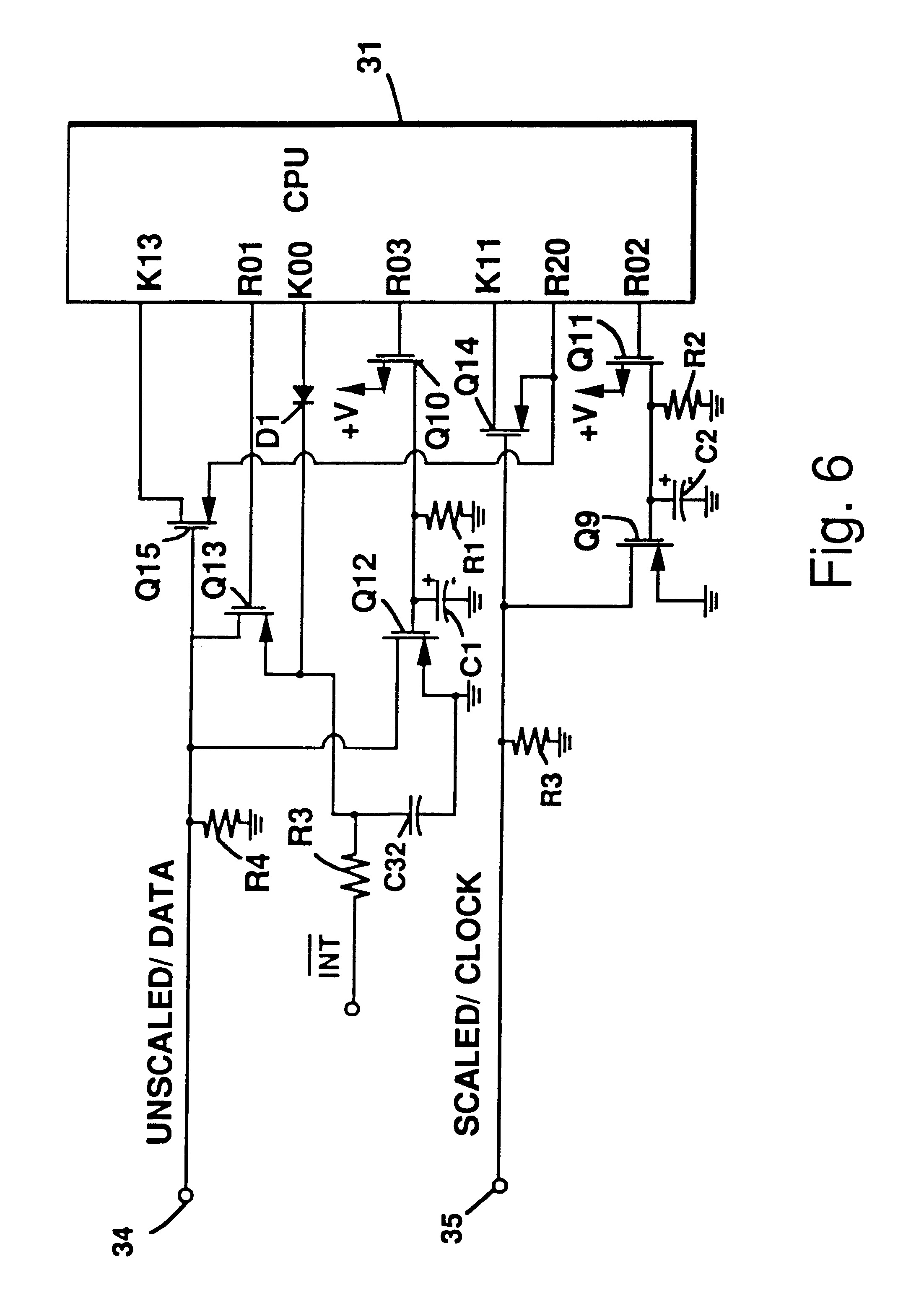 US06611769 20030826 D00005 patent us6611769 meter register with programming and data port badger water meter wiring diagram at mifinder.co