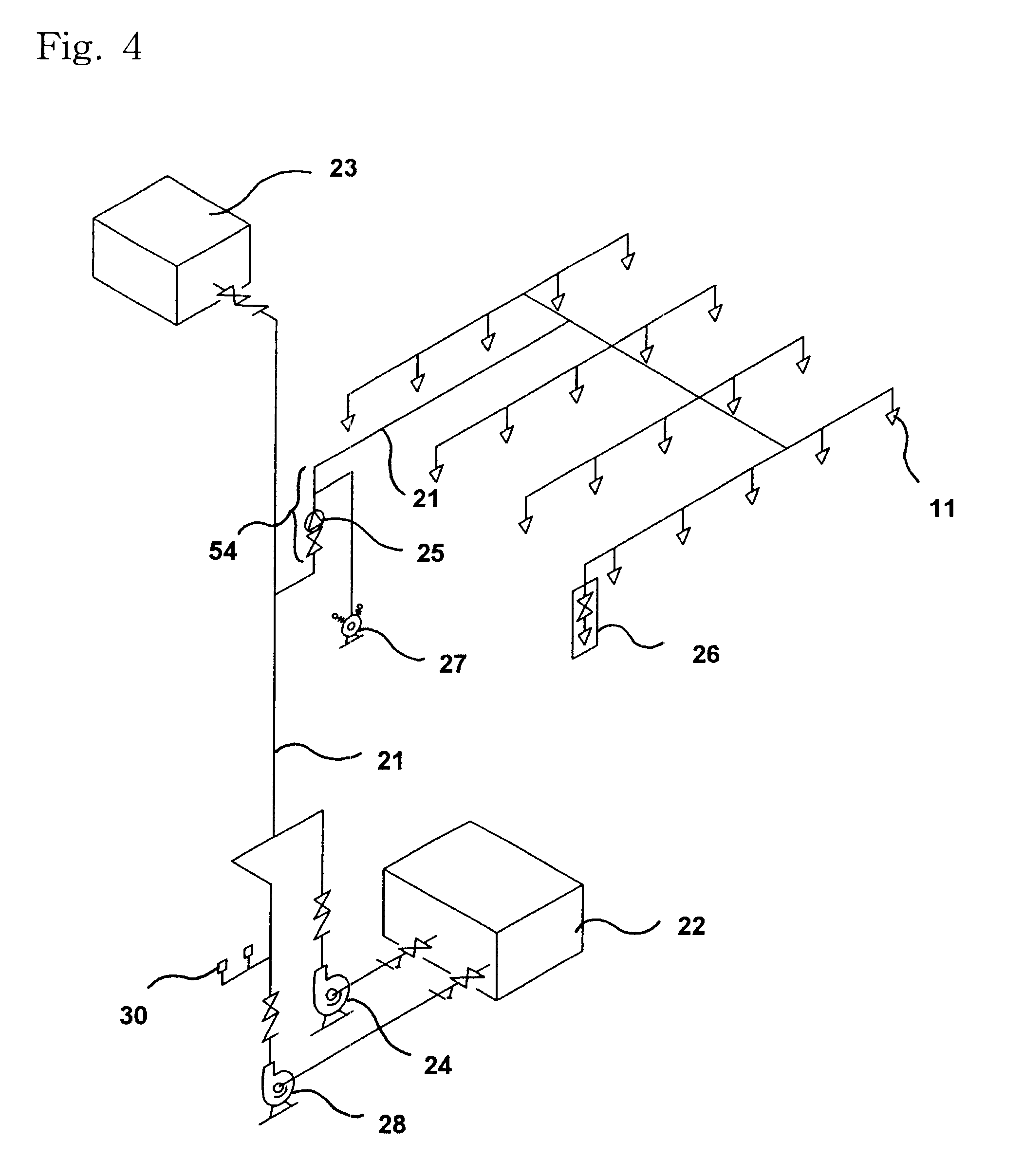 US06615927 20030909 D00004 patent us6615927 automatic sprinkler of fire detector type and,Fire Alarm Circuit Wiring