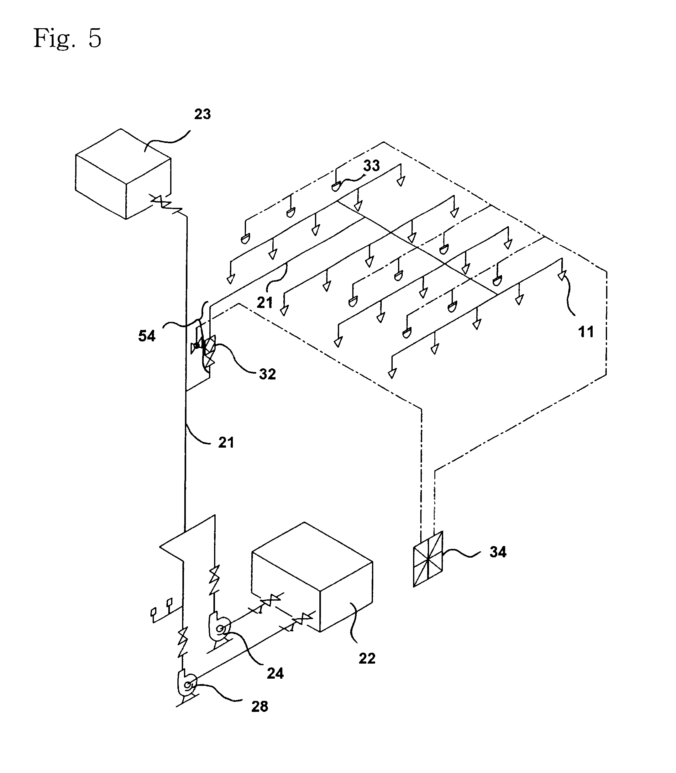 US06615927 20030909 D00005 patent us6615927 automatic sprinkler of fire detector type and,Fire Alarm Circuit Wiring