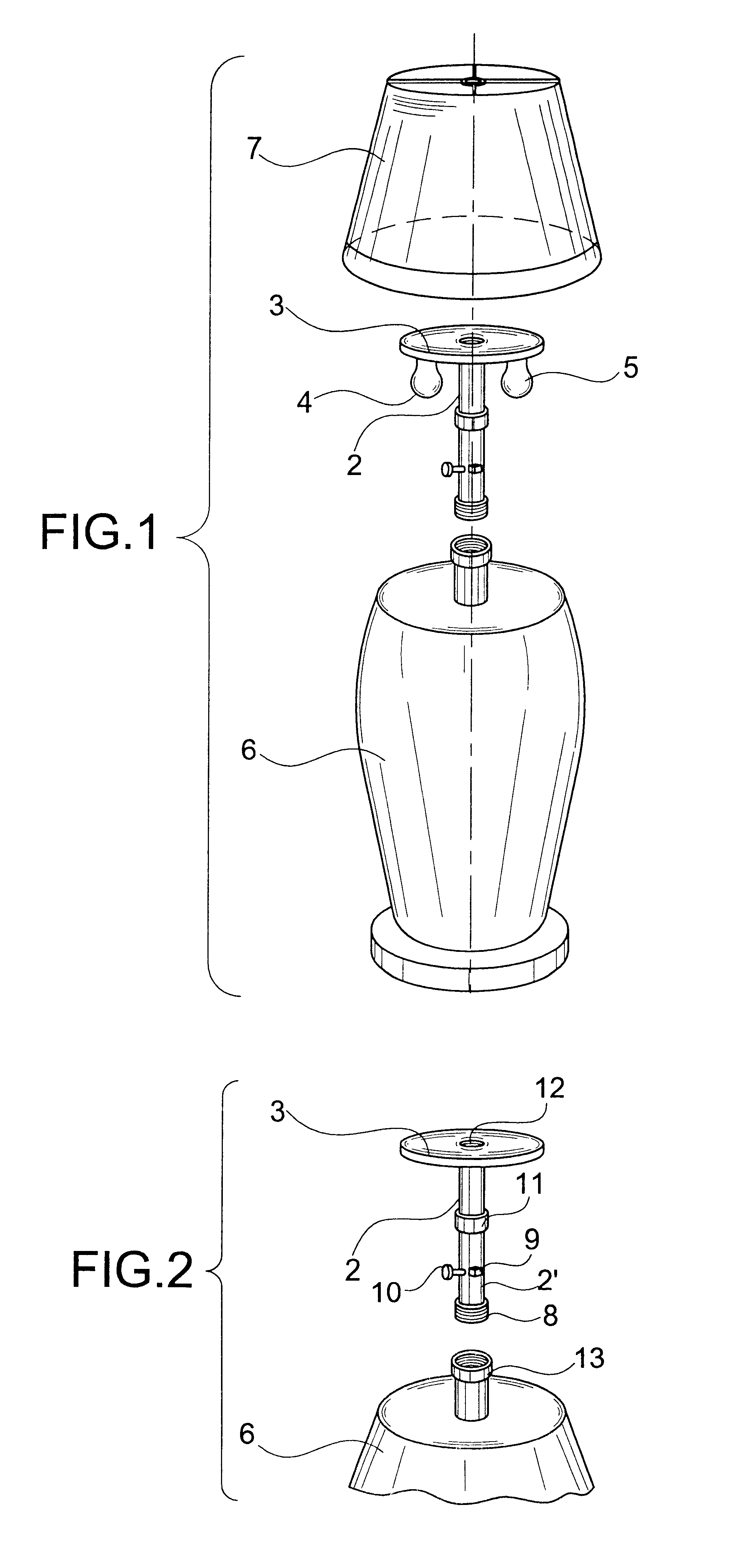 patent us6616298 - dual lamp socket adapter