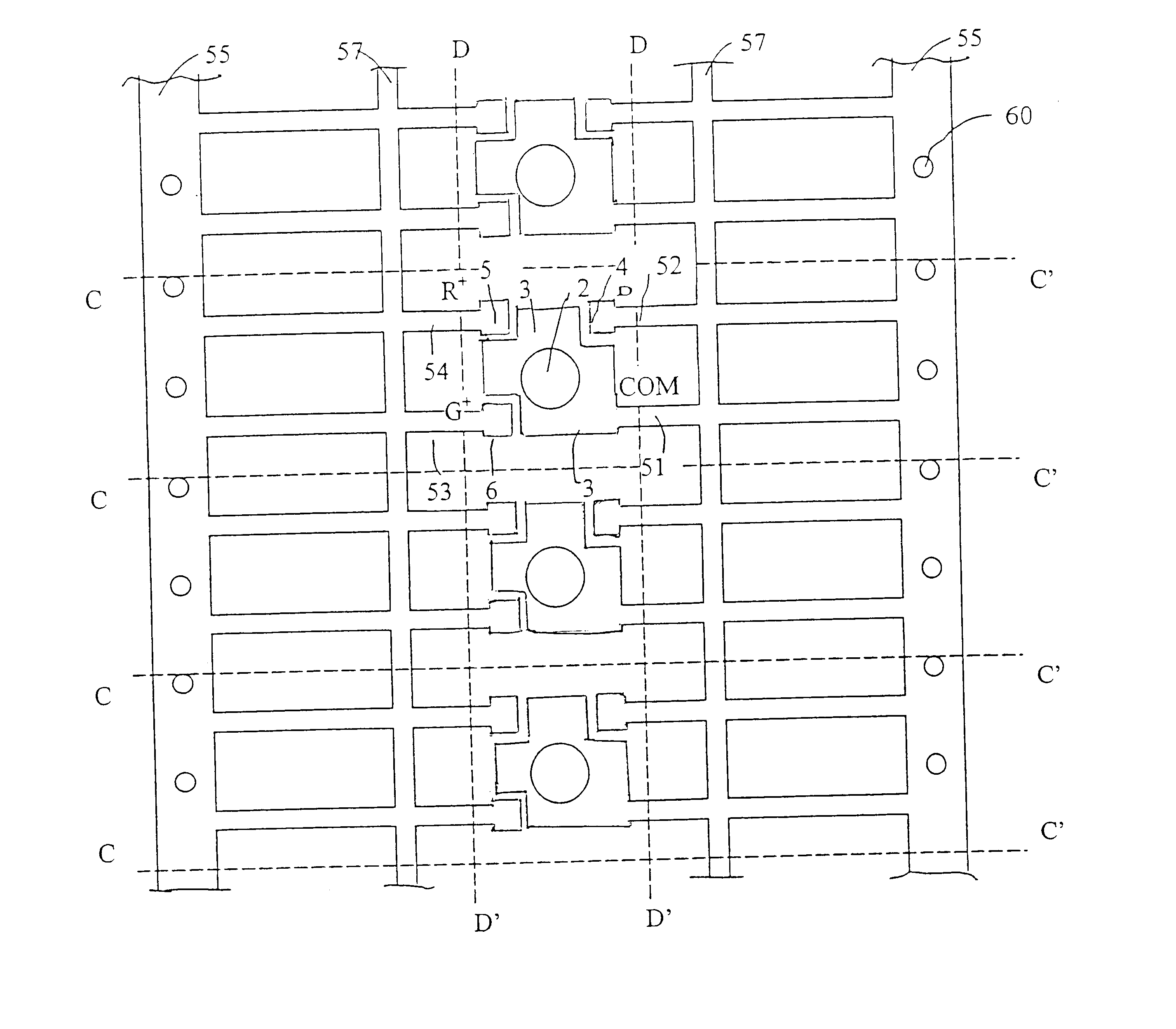 US6621223 in addition Led Light Emitting Diode also Smd2835 60ledsmeter Flexible Led Strip in addition LED furthermore  on led positive and negative legs