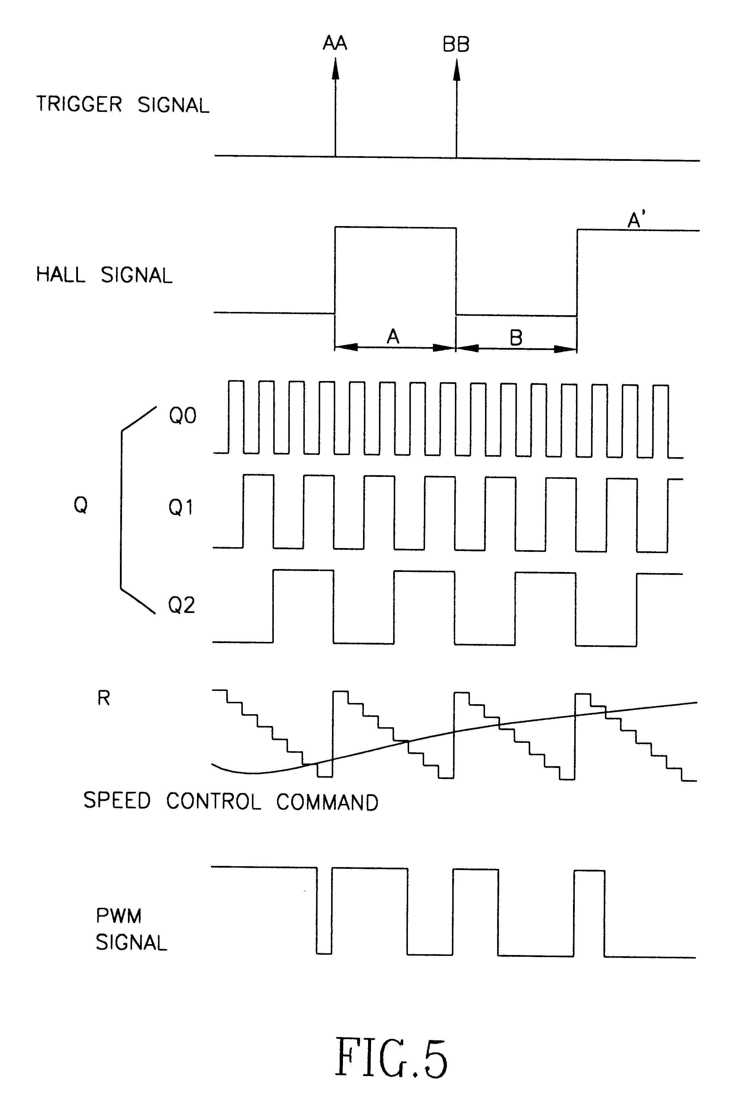 Patent Us6621242 Motor Speed Control Circuit Having A