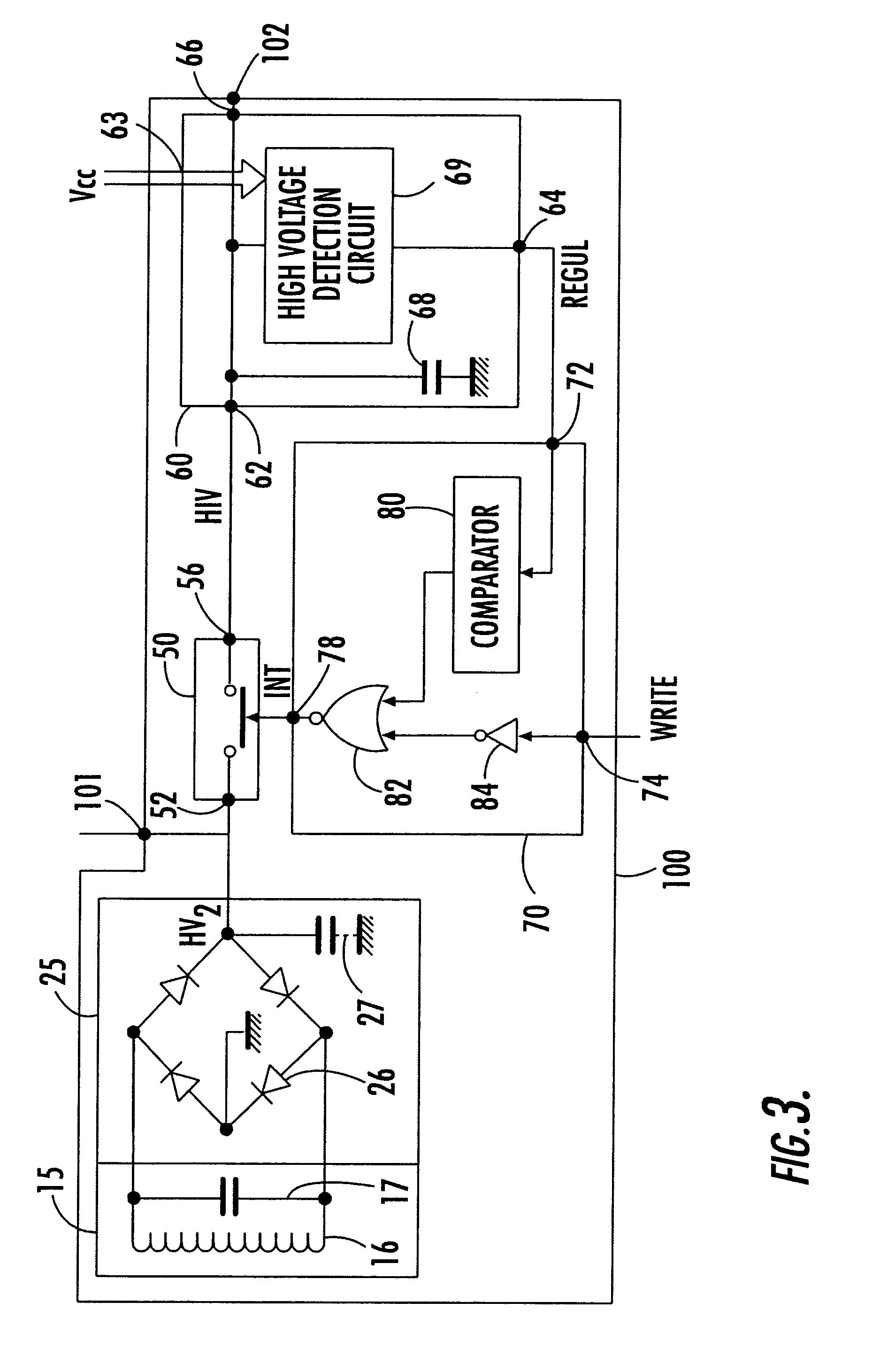 patent us6621720 - voltage production circuit