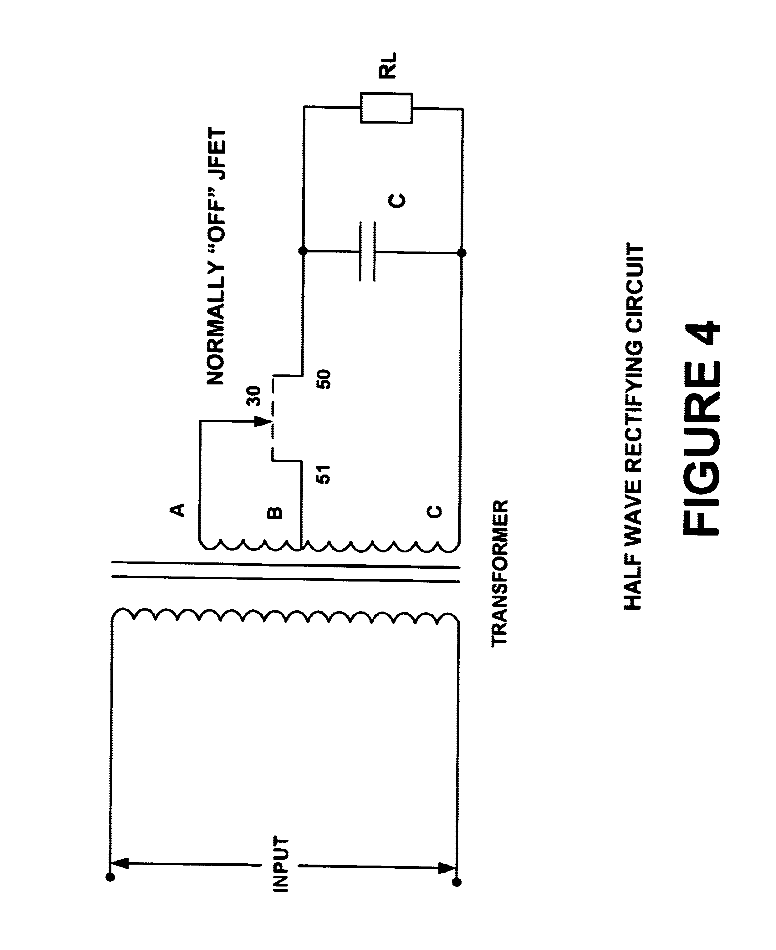 Patent Us6621722 Rectifier Circuits With Low Forward Voltage Jfet Simple Regulator By Drawing