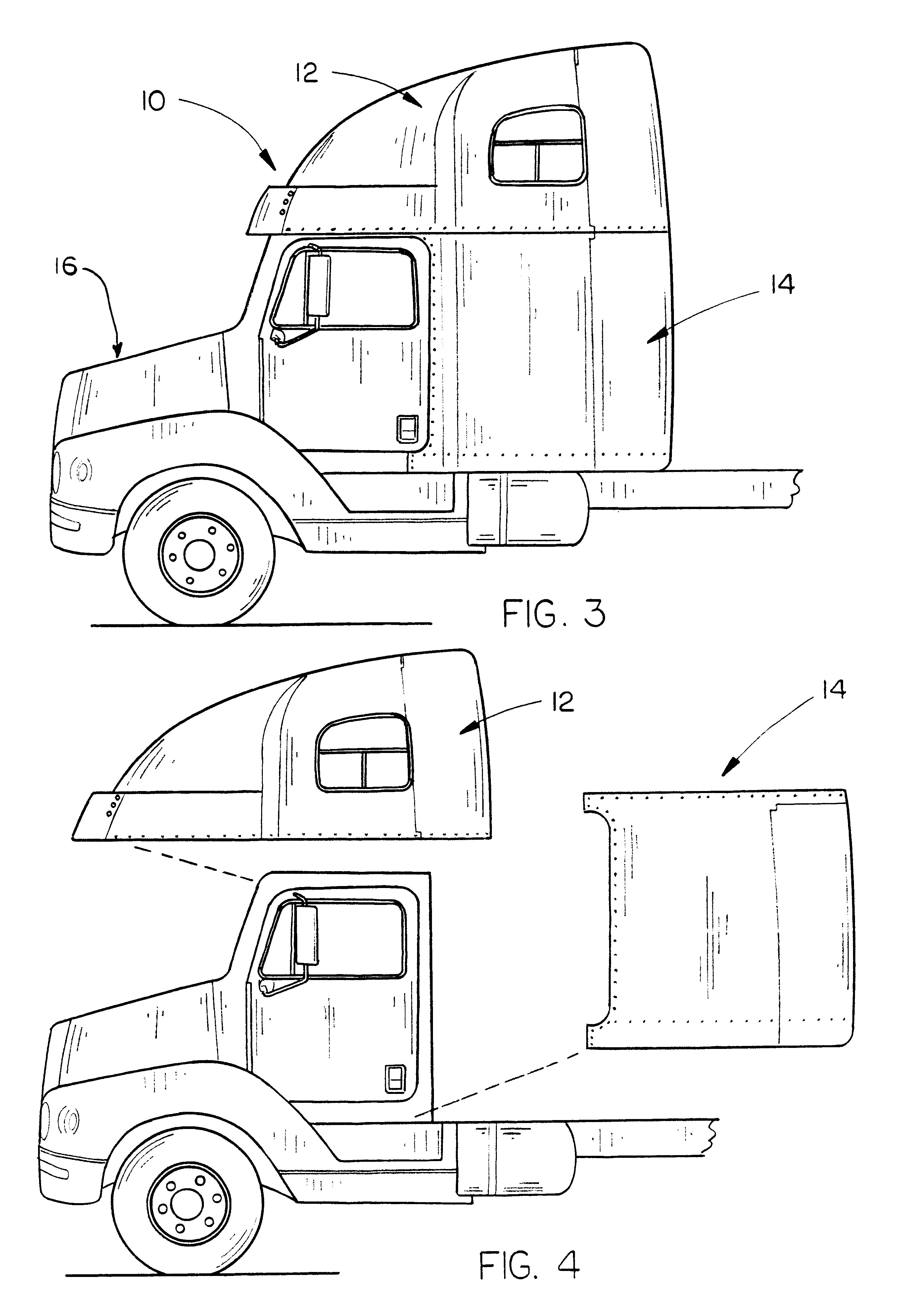 patent us6625860 method of converting a truck having a raised