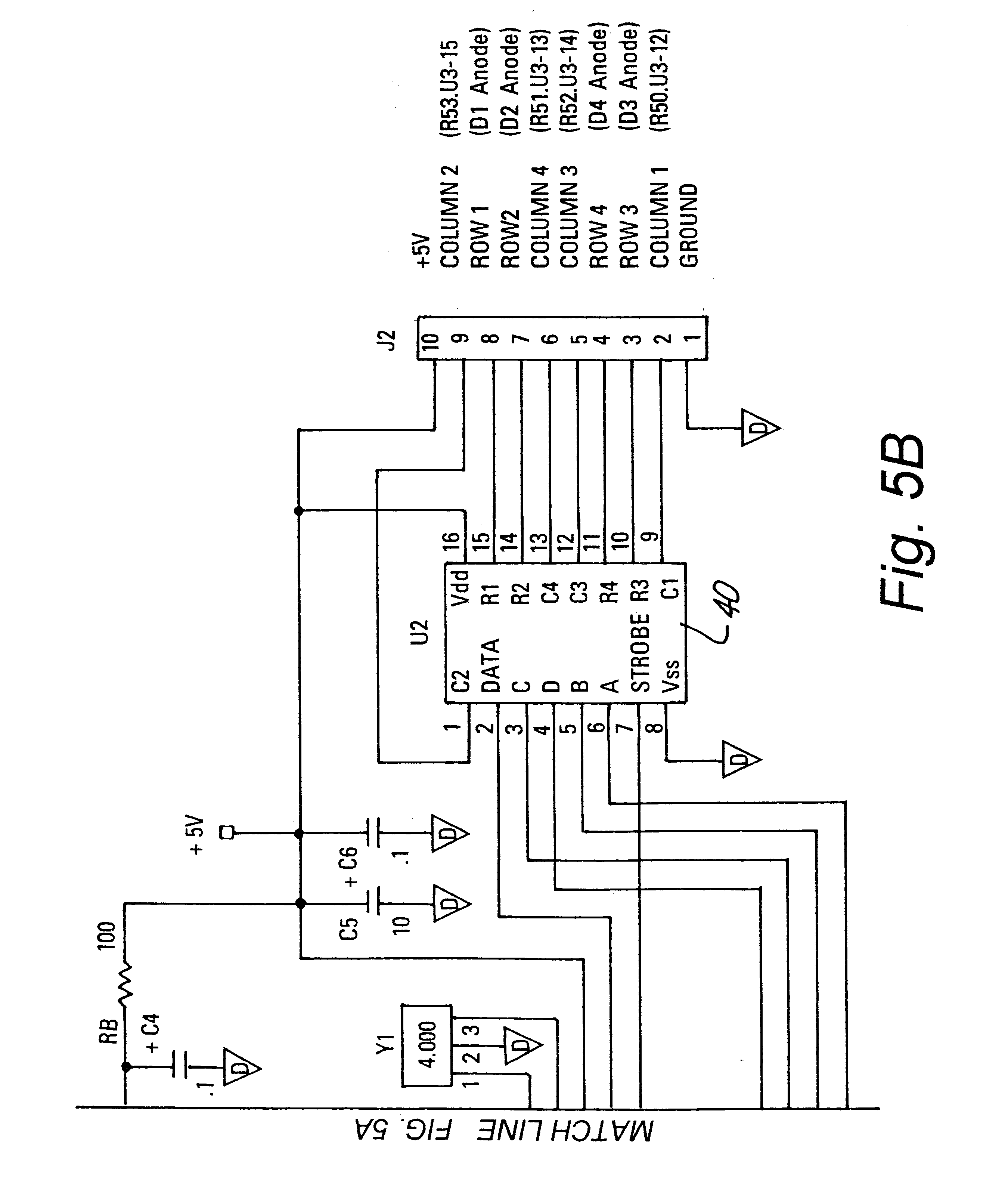 US06629245 20030930 D00005 patent us6629245 apparatus for stimulating keypad entry of an caddx nx 8 wiring diagram at soozxer.org