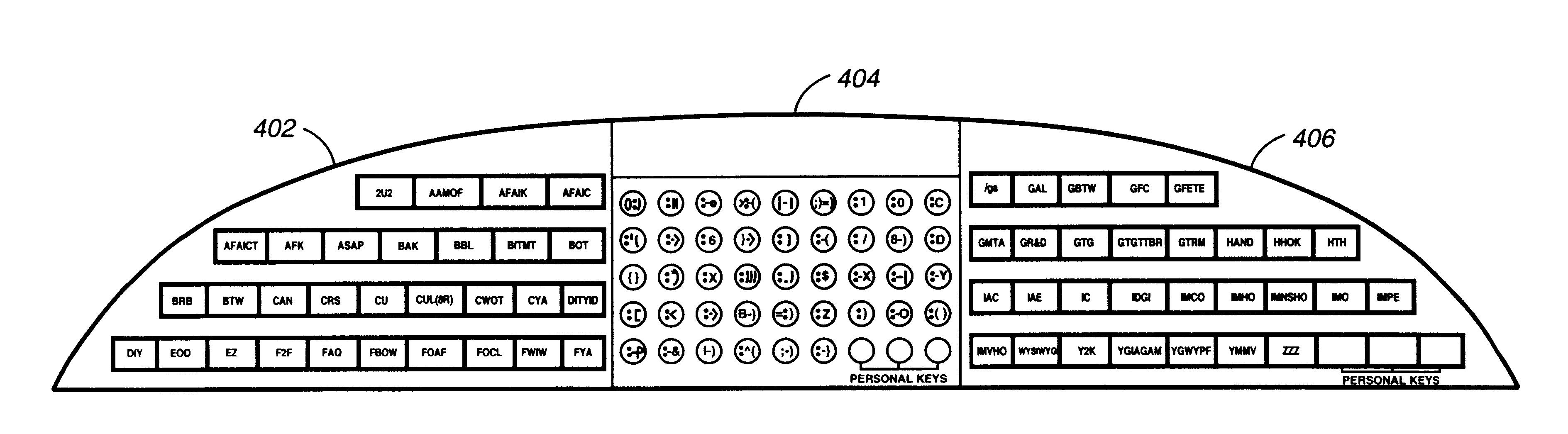 Lotus Notes Emoticons Patent Us6629793 Emoticon Keyboard Google Patents