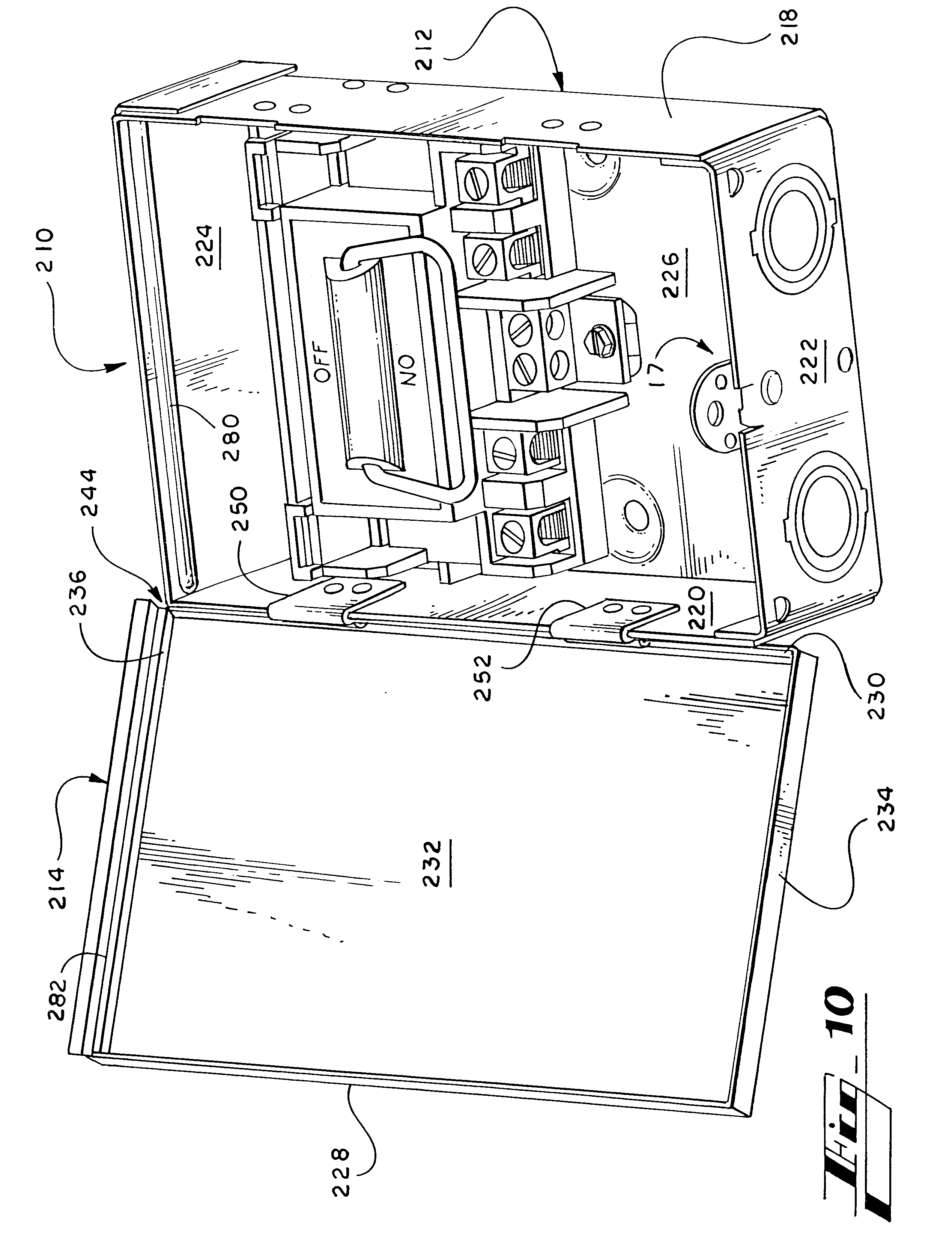 patent us6630637 - ac disconnect switch