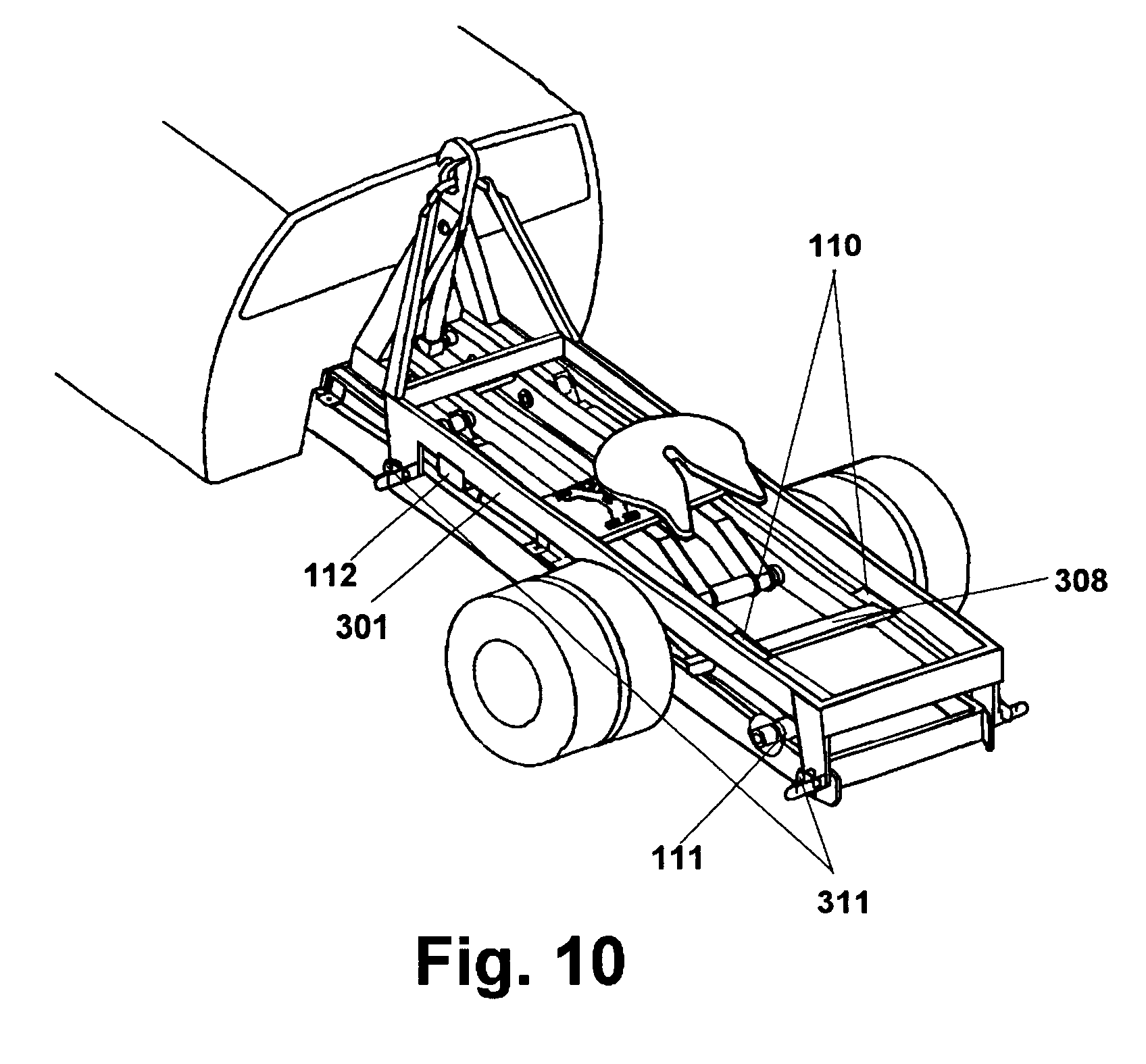 patent us6631917 - trailer hitch support body