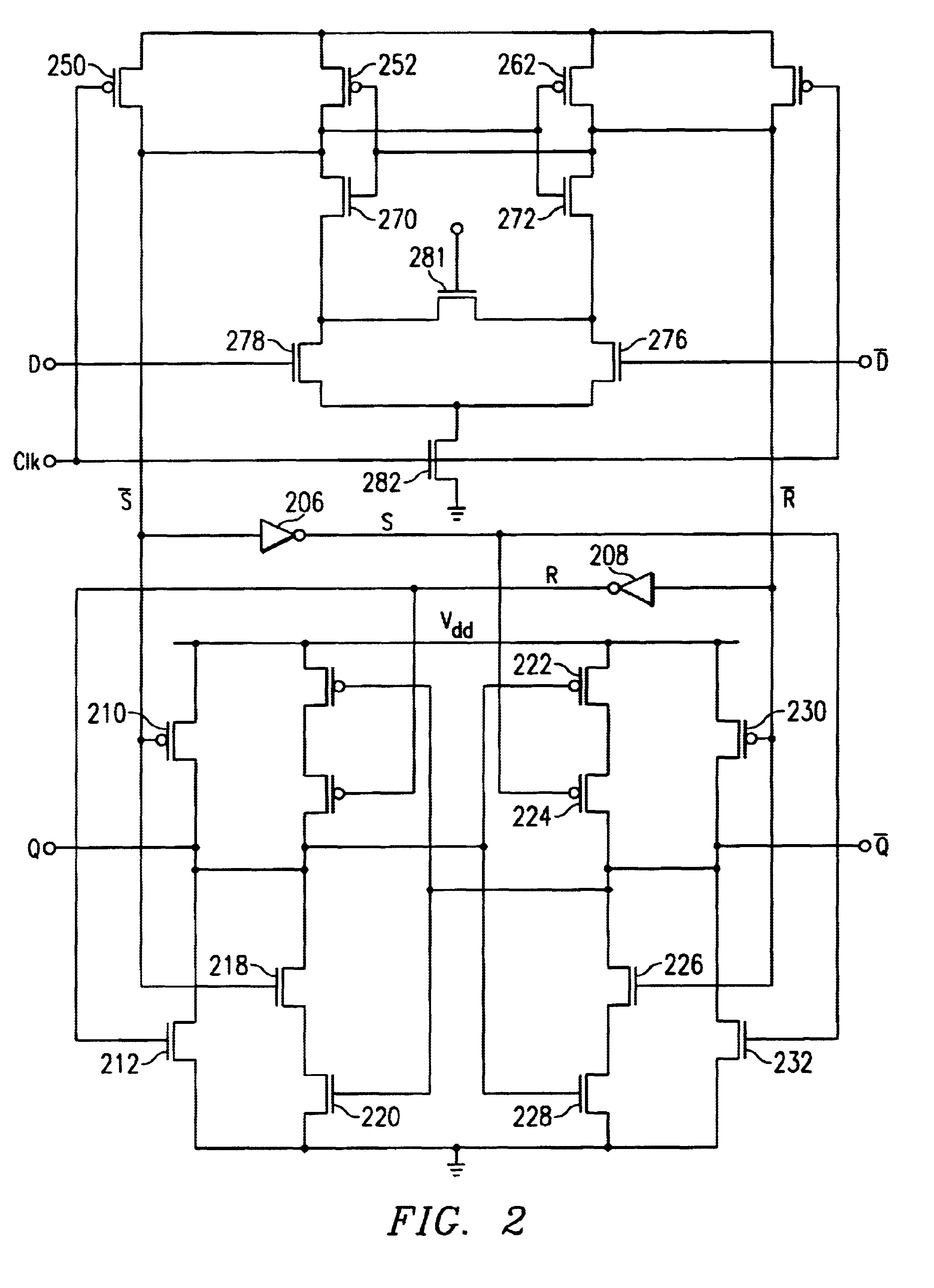 D Flip Flop Transistor Schematic Data Wiring Diagrams Latch Circuit Diagram Patent Us6633188 Sense Amplifier Based With Sheet