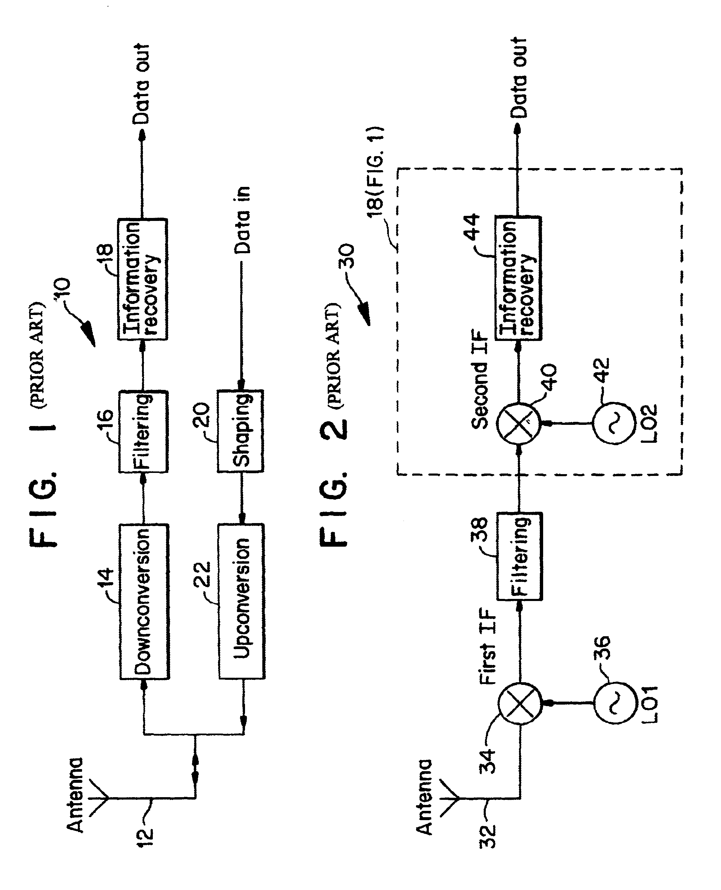 patent us6633550 - radio transceiver on a chip