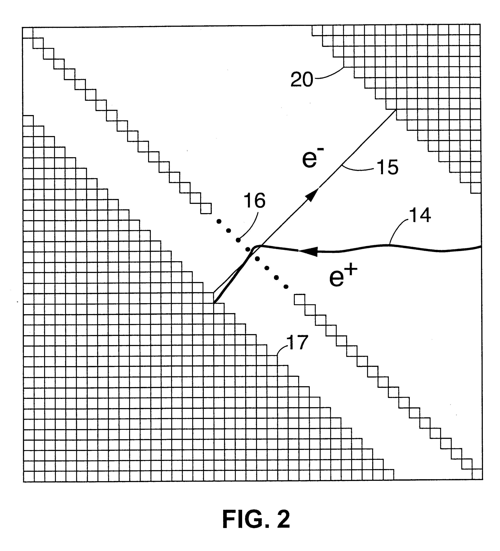 patent us6635871 - positron lifetime spectrometer using a dc positron beam