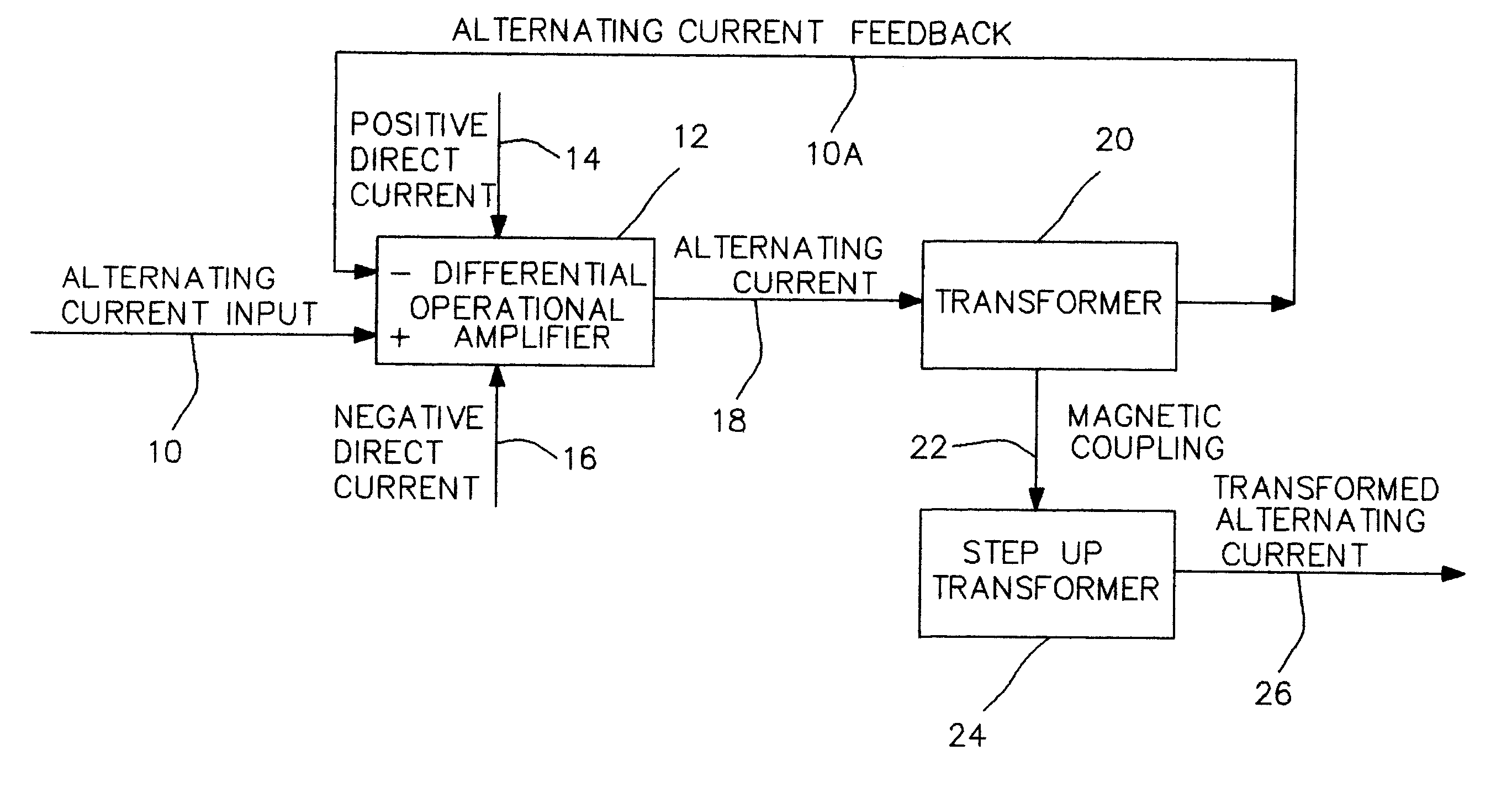 Patent Us6639467 Alternating Current Derived From Direct Diagram Continuous Images4 Drawing
