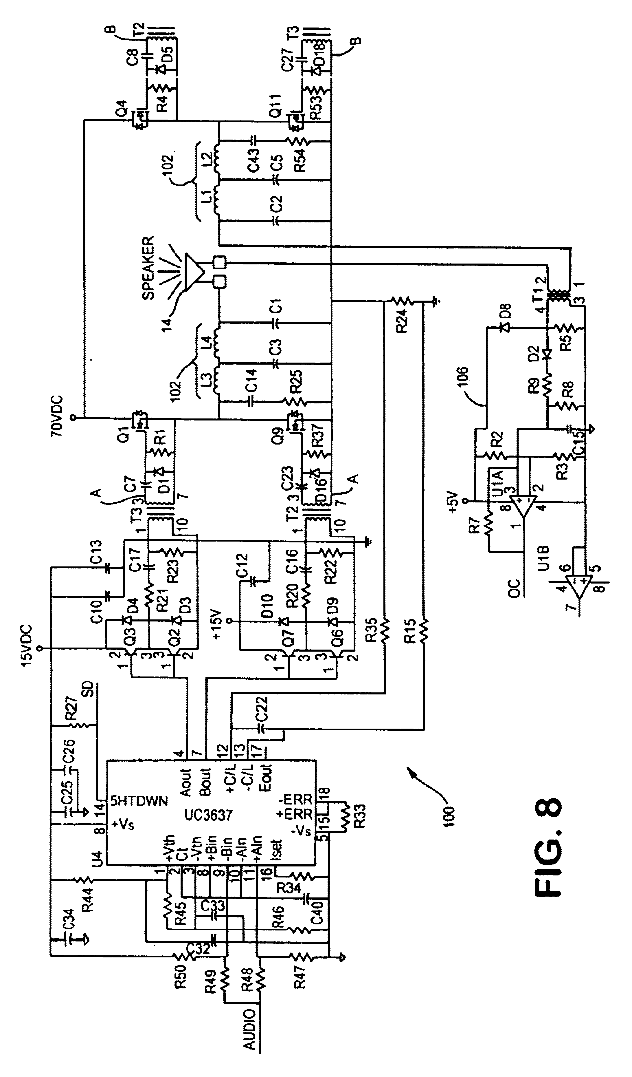 US06646548 20031111 D00007 code 3 siren wiring diagram car alarm circuit diagram \u2022 wiring Simple Electrical Wiring Diagrams at crackthecode.co