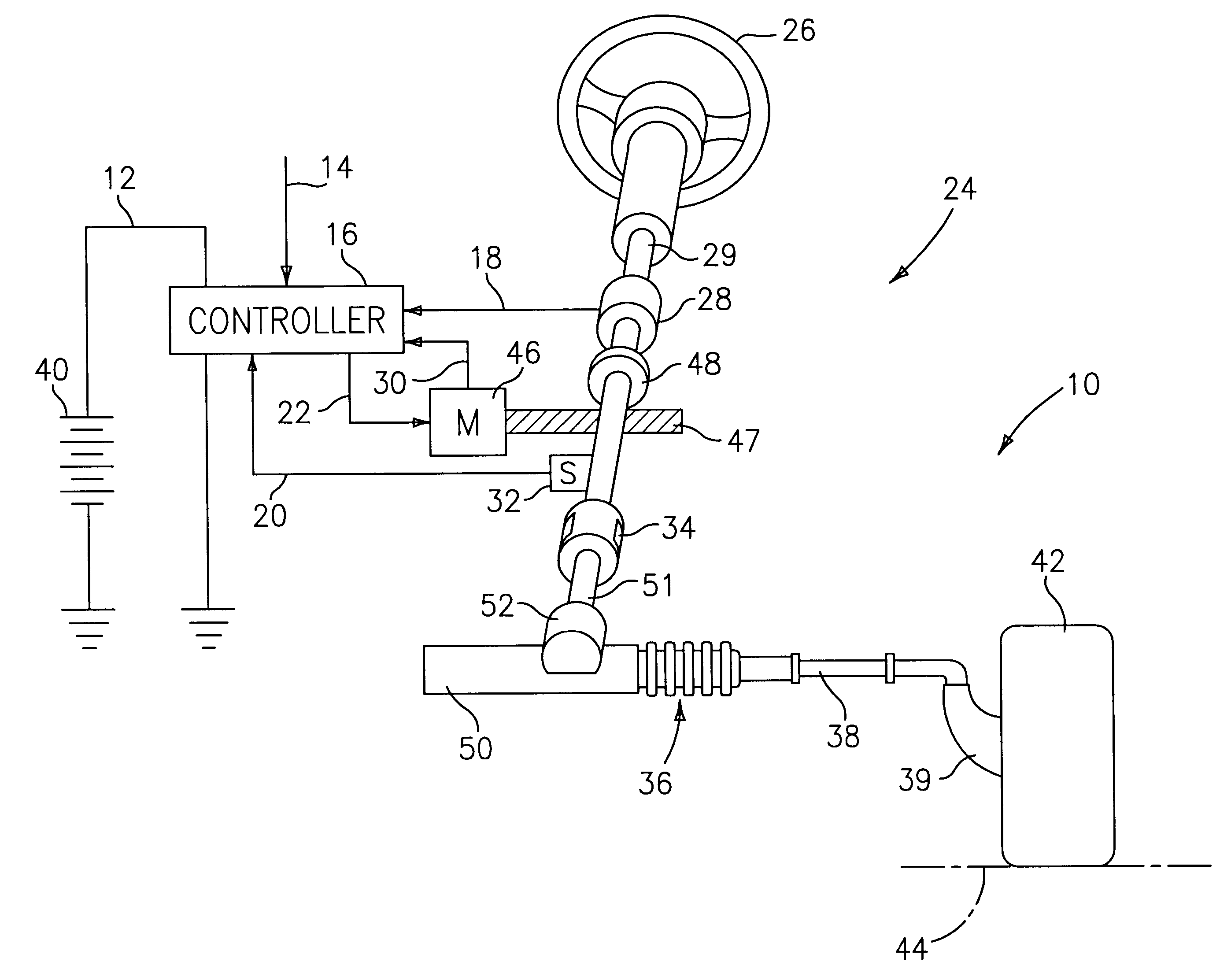 US06647329 20031111 D00000 patent us6647329 damping of voltage controlled brushless motors koyo electric power steering wiring diagram at readyjetset.co