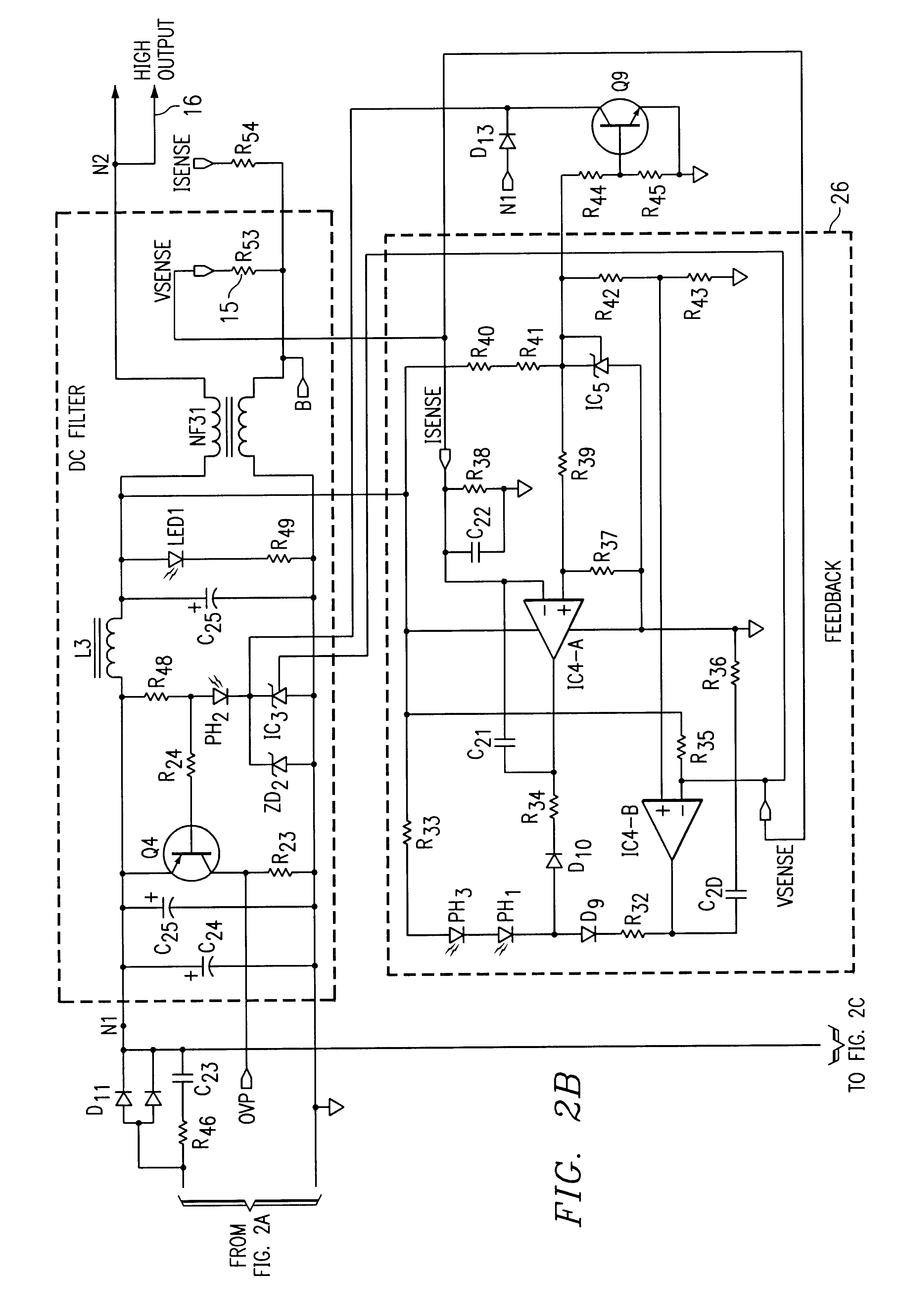US06650560 20031118 D00004 patent us6650560 dual input ac and dc power supply having a hipro power supply wiring diagram at gsmx.co