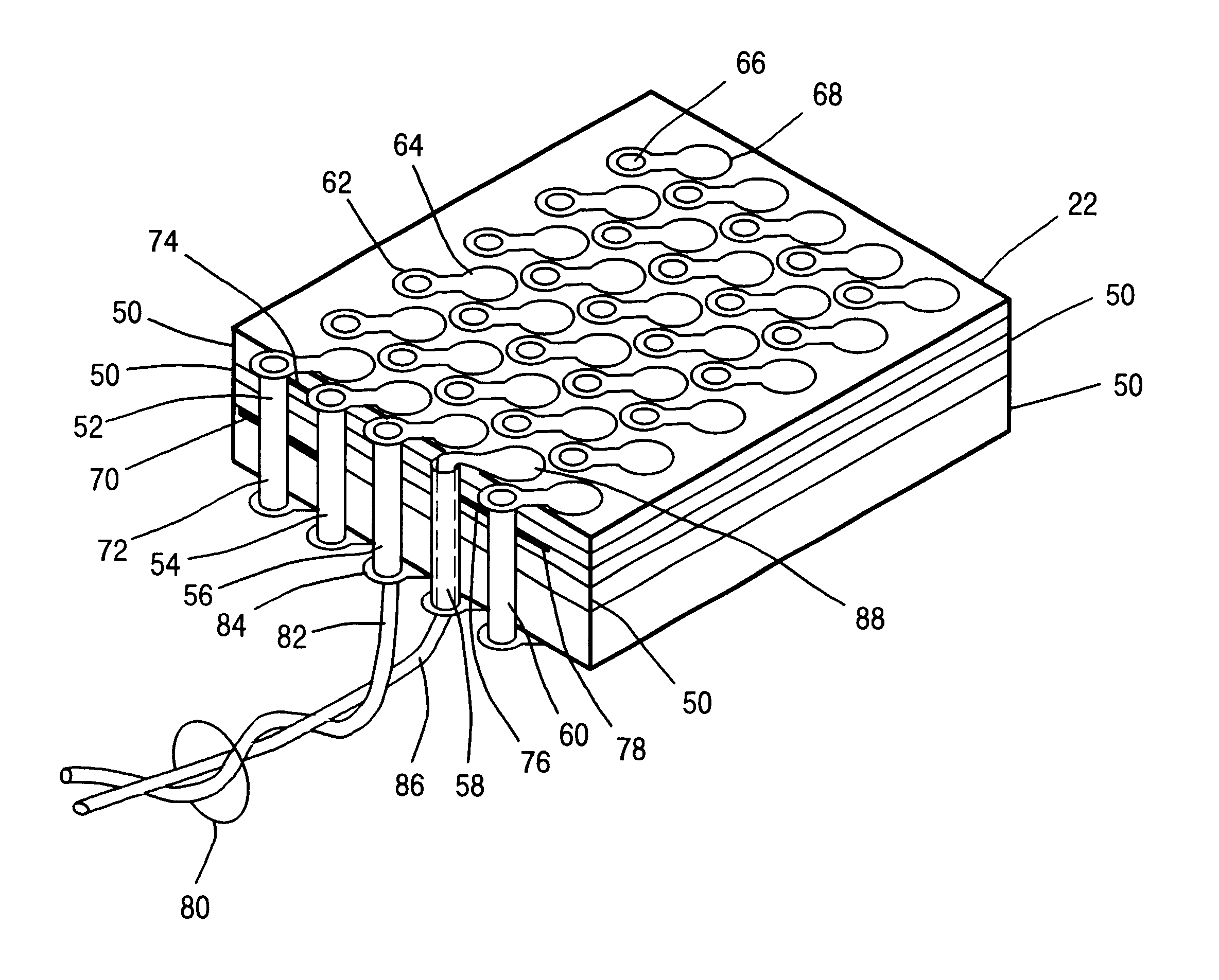 patent us6651322 - method of reworking a multilayer printed circuit board assembly