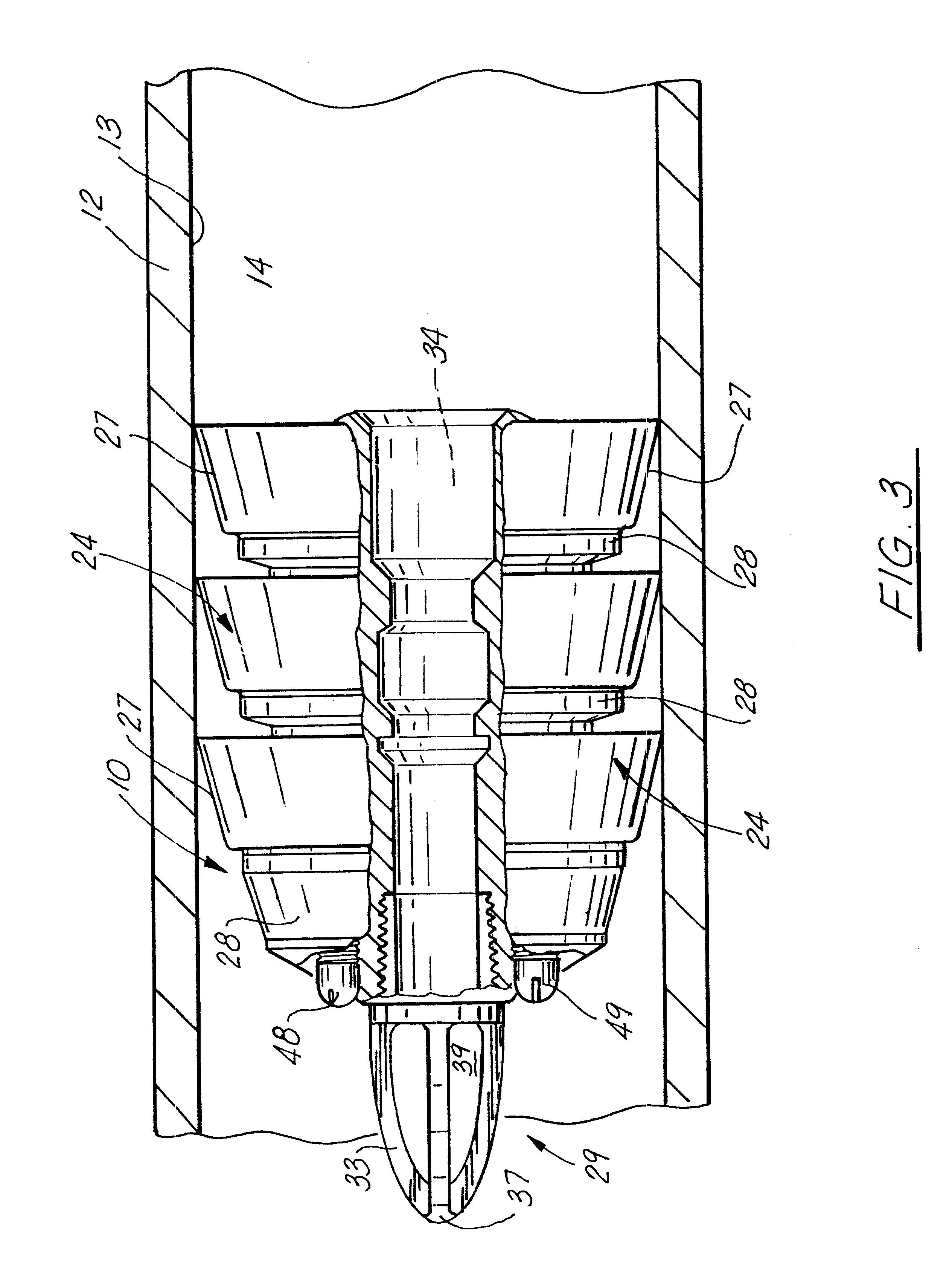 Patent us bi directional thruster pig apparatus
