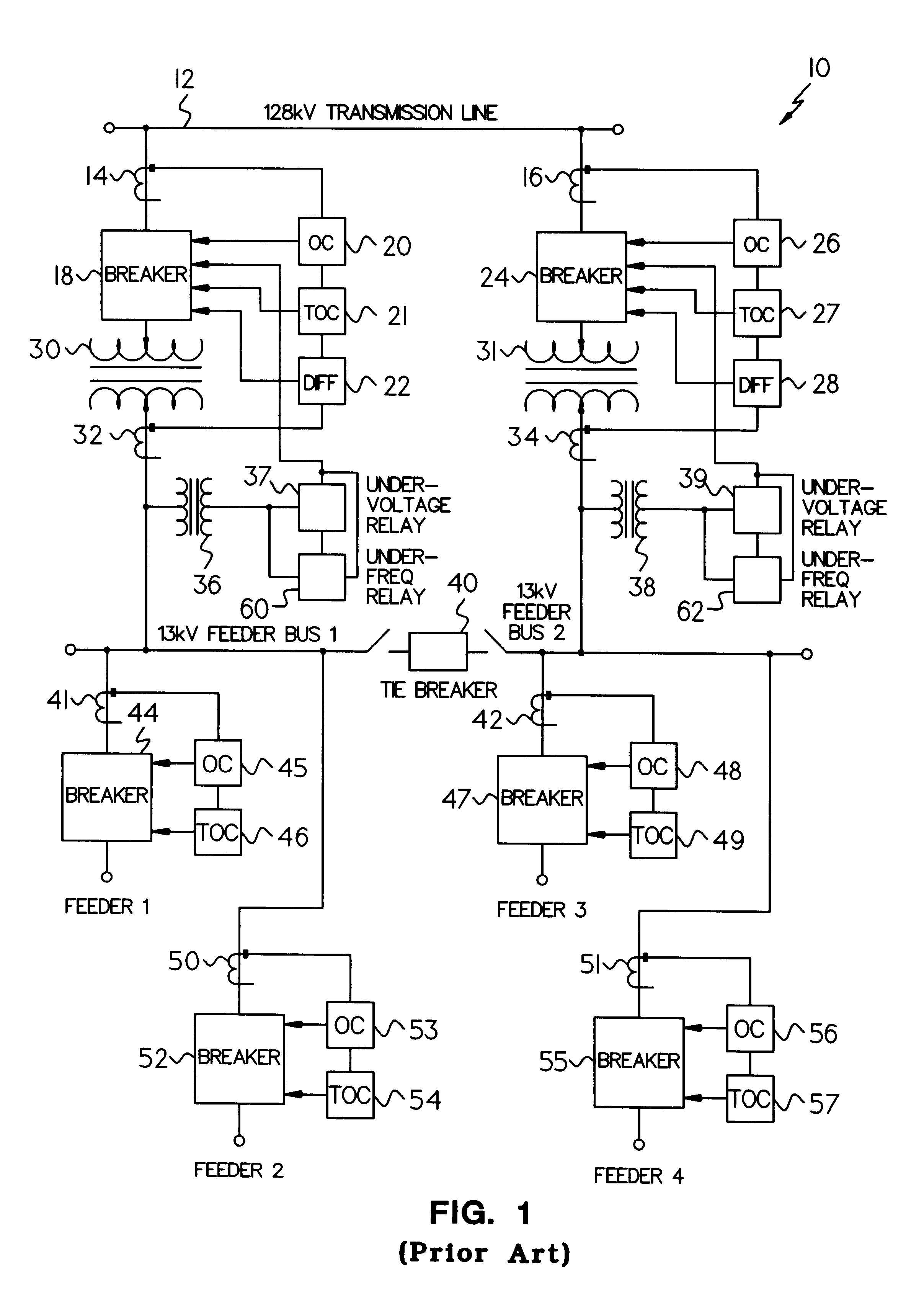 Patent US Distributed Monitoring And Protection System - Alstom electromagnetic relay catalogue