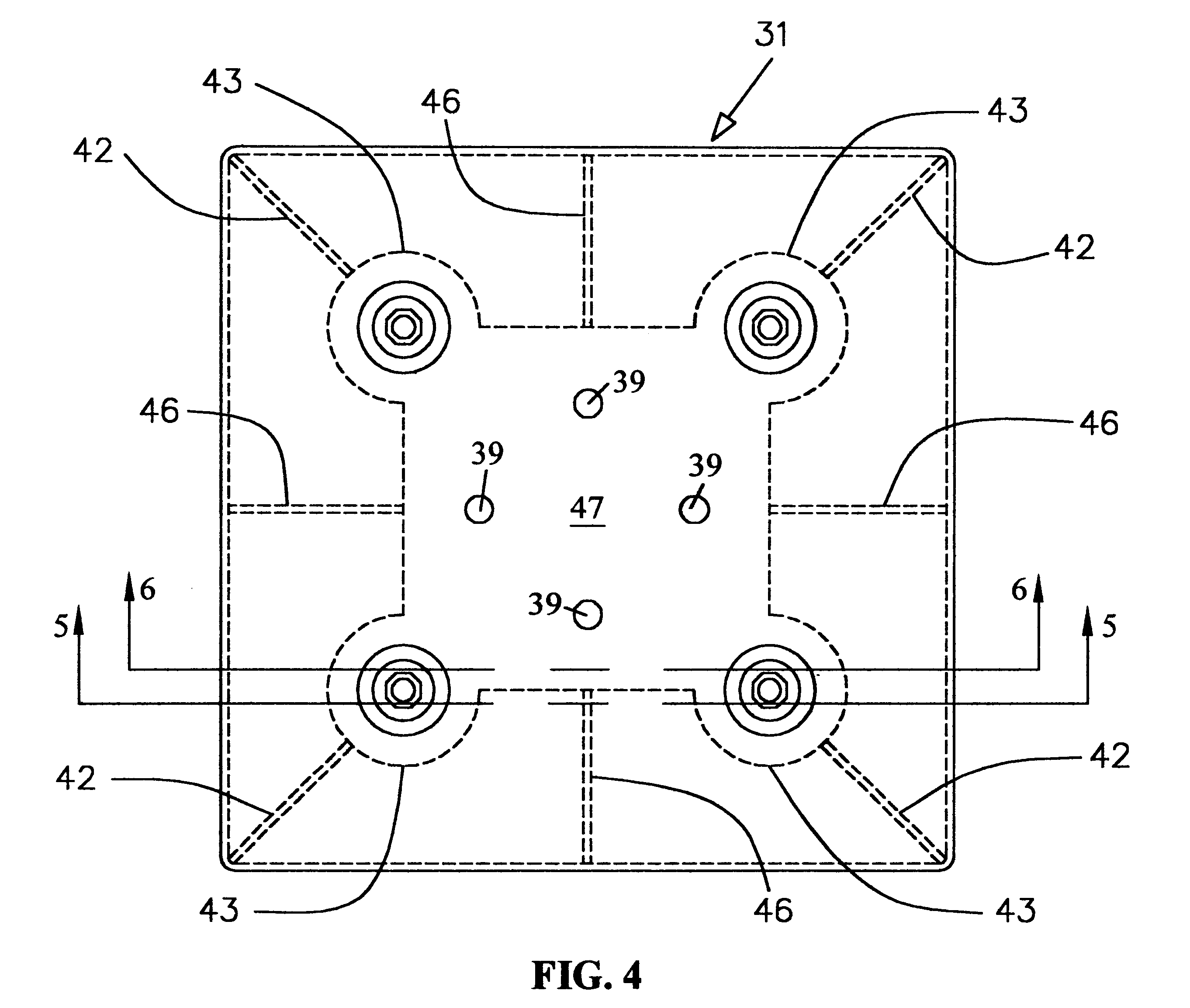 patent us6655648 - outdoor mechanical equipment mounting system