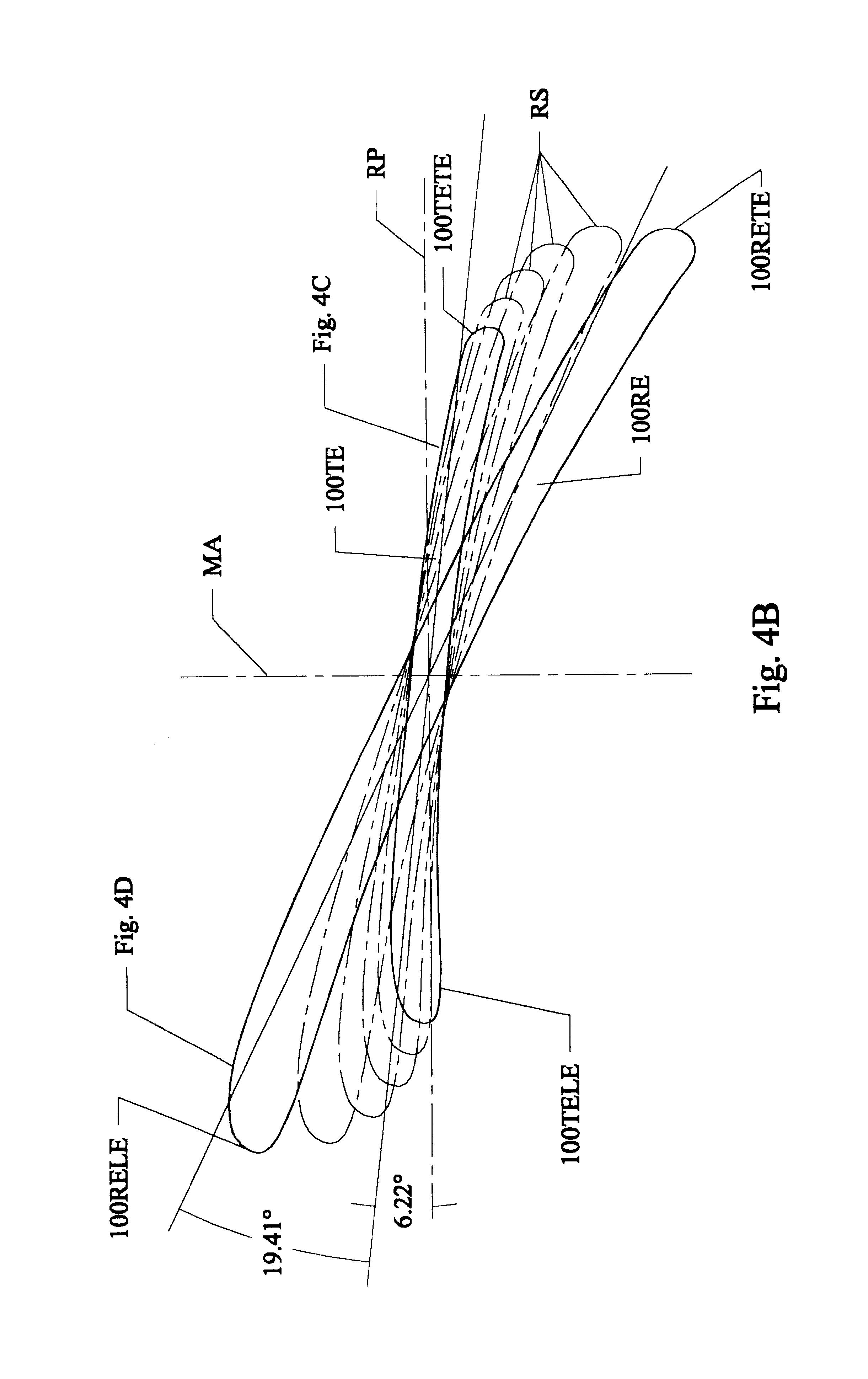 Fan Blade Drawing : Patent us high efficiency ceiling fan blades