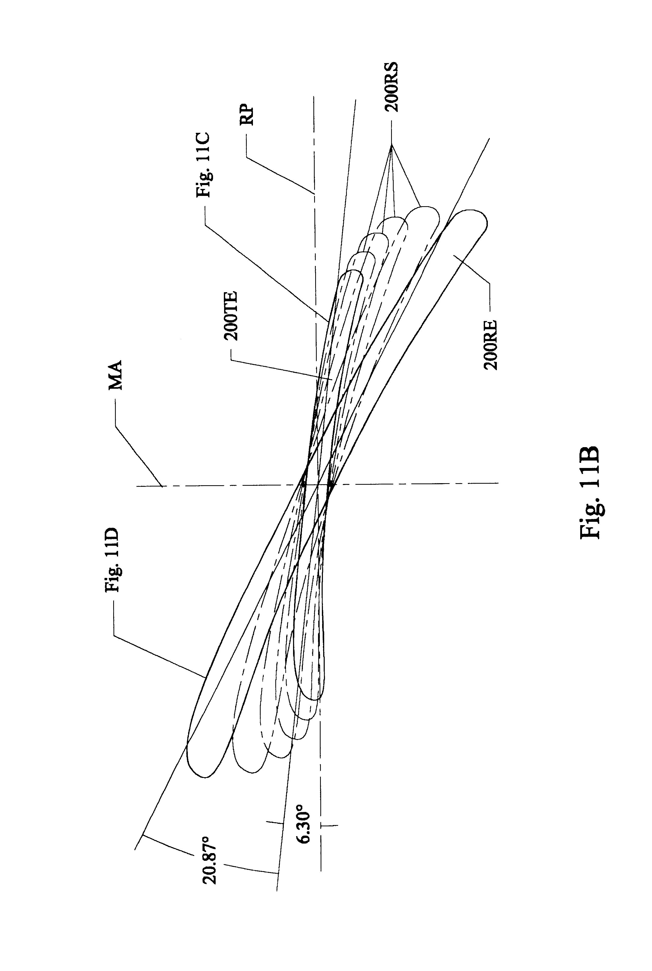 Fan Blade Drawing : Brevetto us high efficiency ceiling fan blades