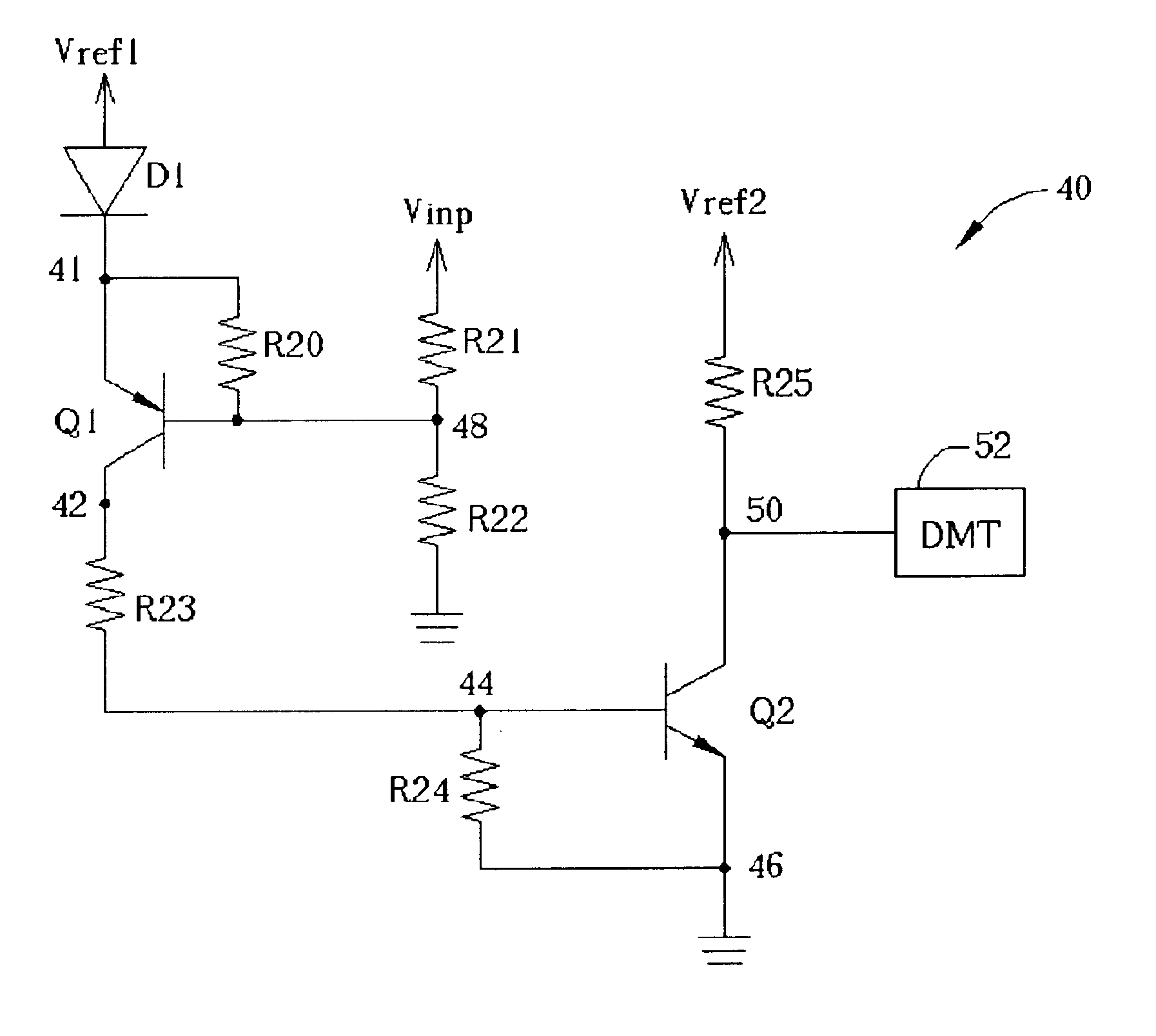 Low Voltage Detection Circuit Diagram Electrical Wiring Diagrams Alternatingredgreen Basiccircuit Seekiccom Patent Us6661258 Detecting For Input Wpve05111k10aa31